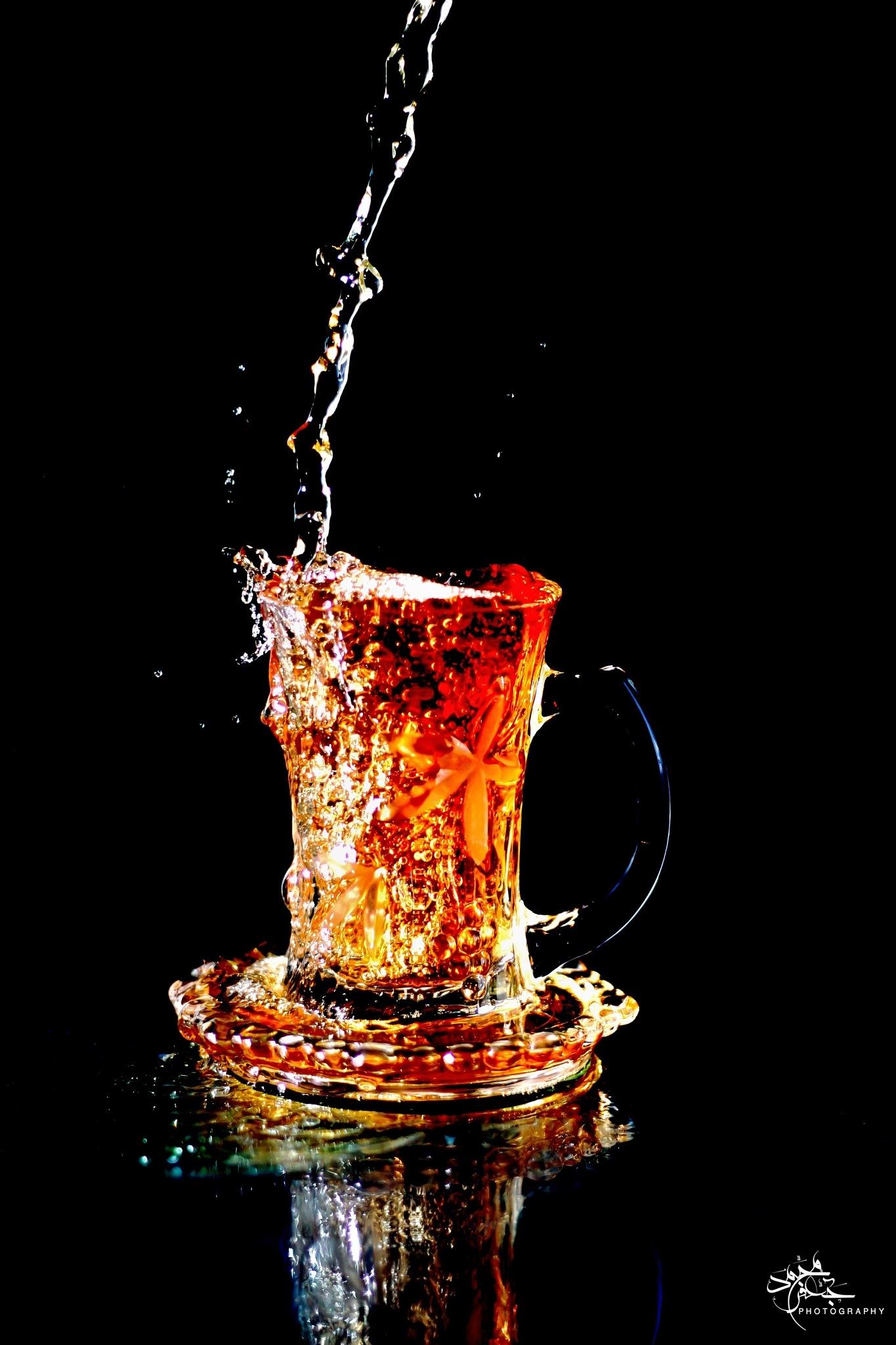 A cup of tea by Mohamed gaafar