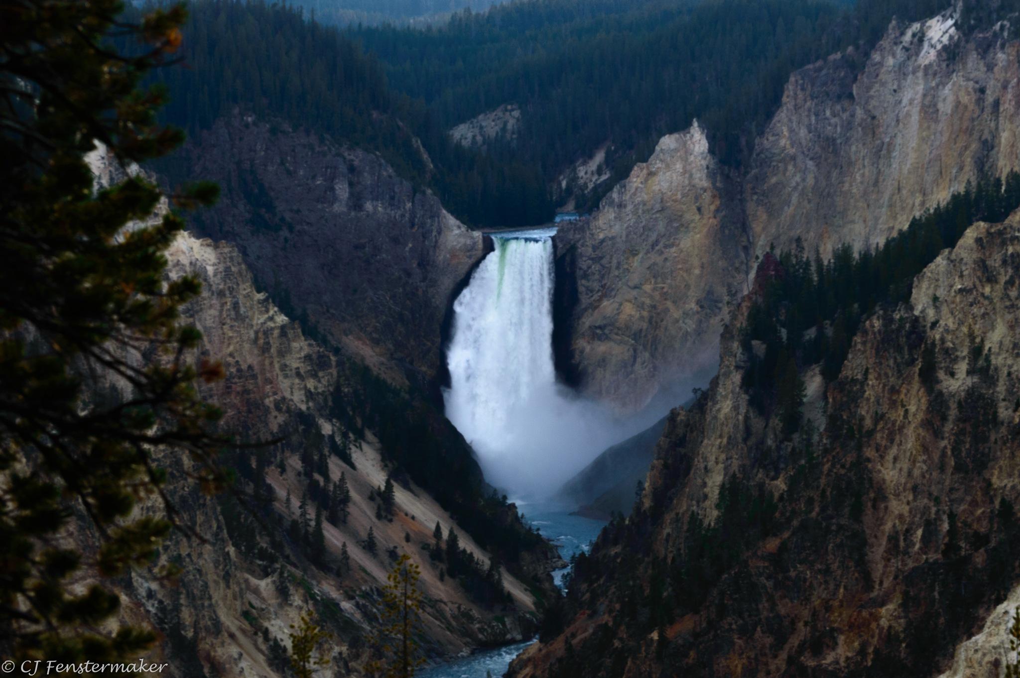 Upper Falls by CJ Fenstermaker