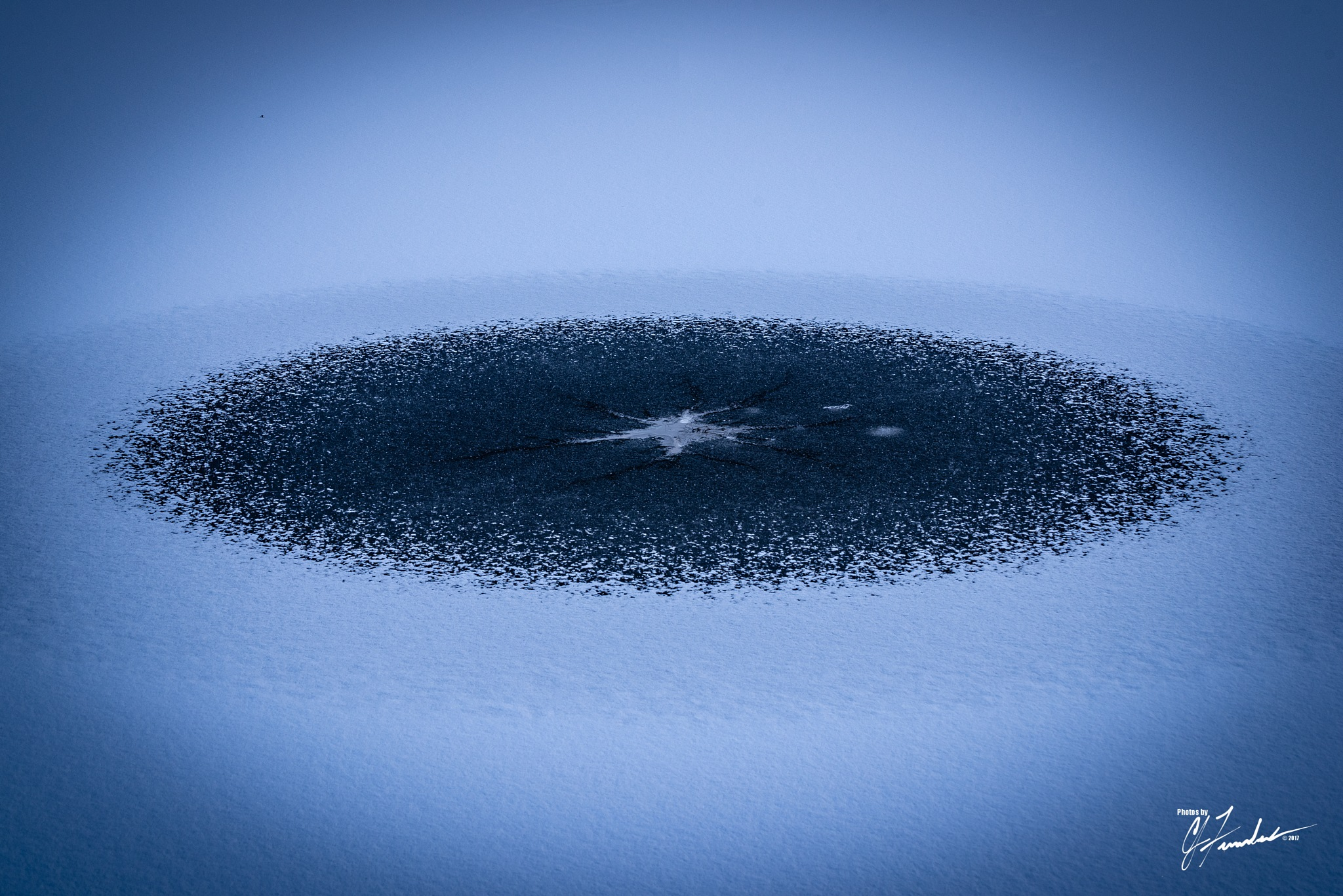 Ice Circle by CJ Fenstermaker