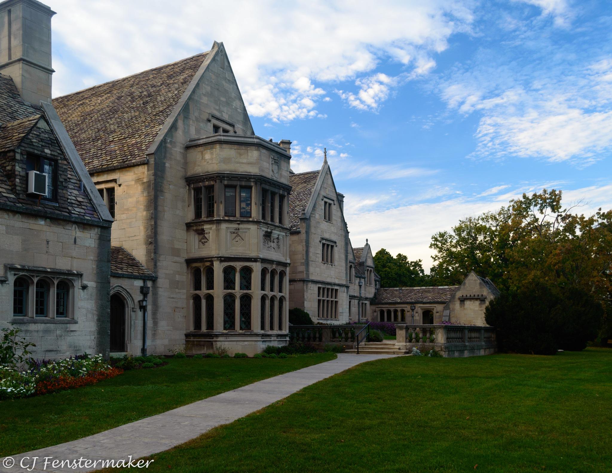 Hartwood Mansion - Veranda by CJ Fenstermaker