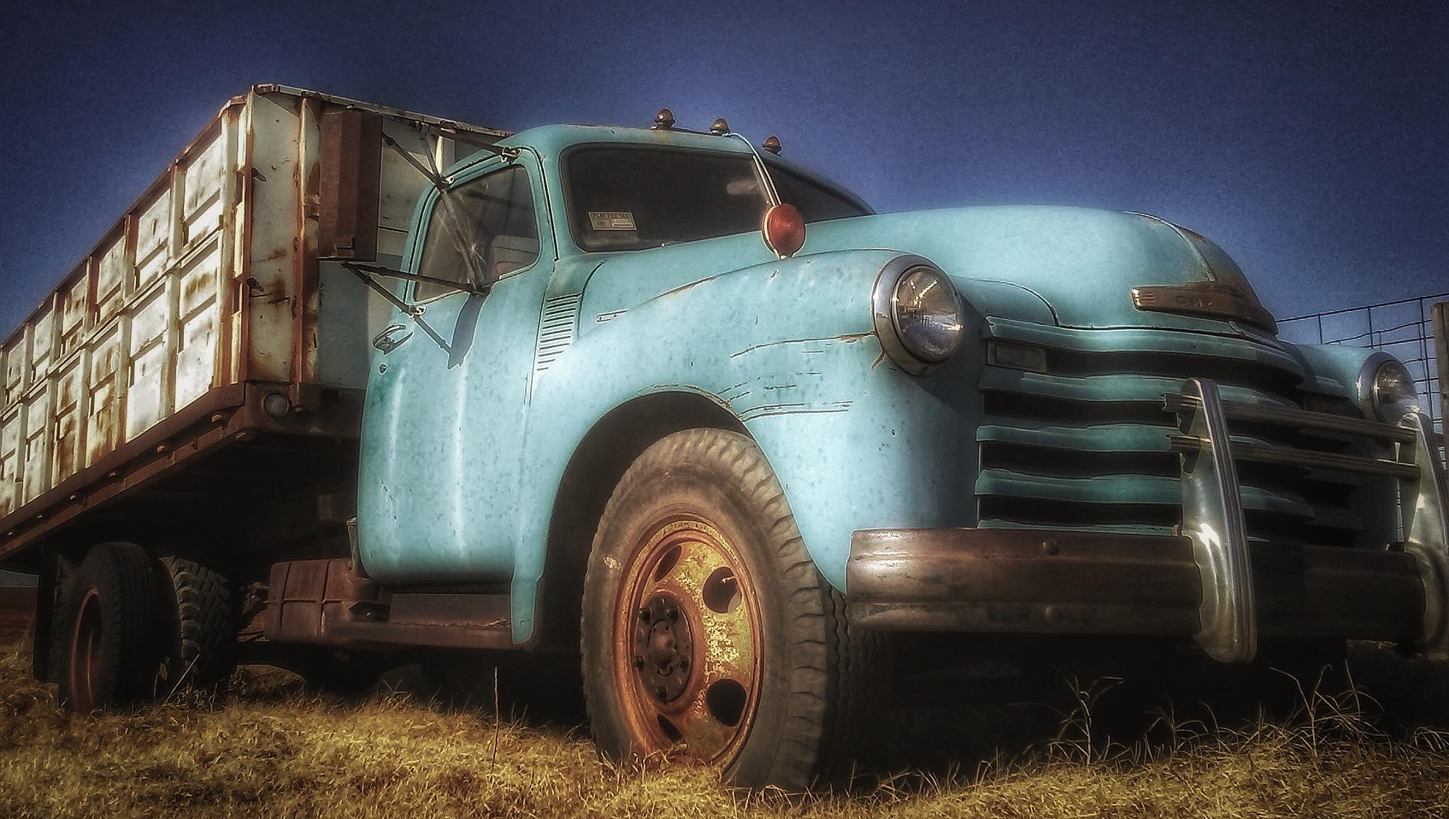 Old Grain Truck by Joshua Kliewer