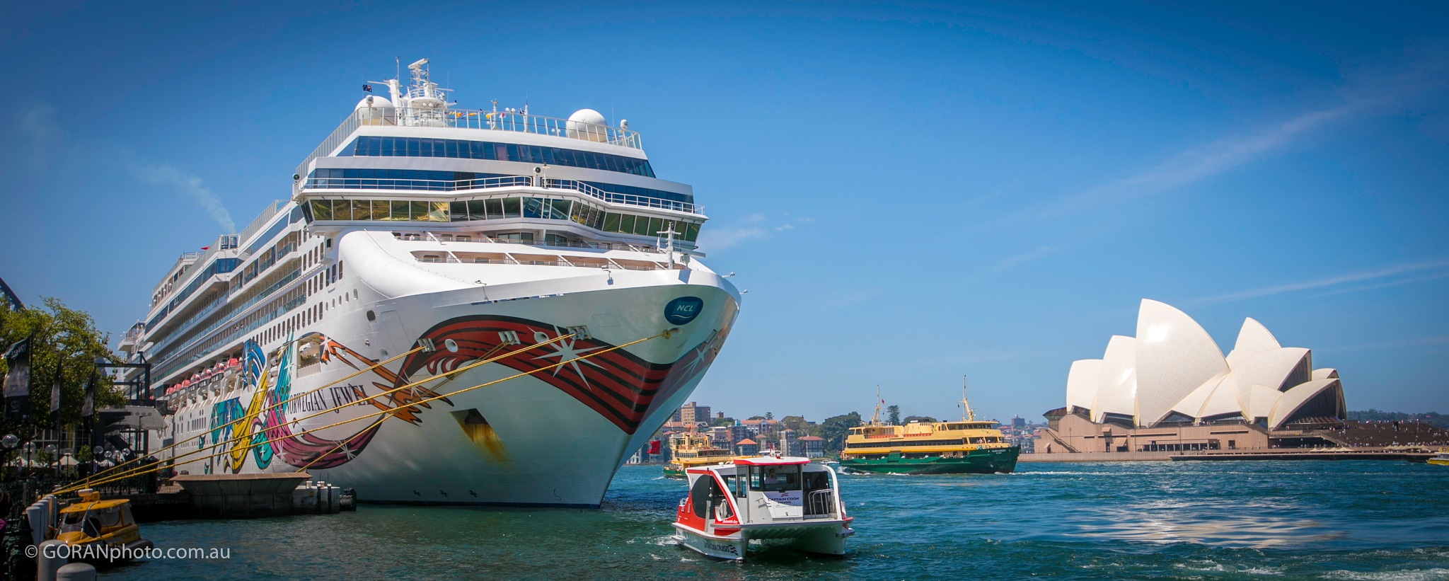 Sydney Harbour by Goran Dojcinovic