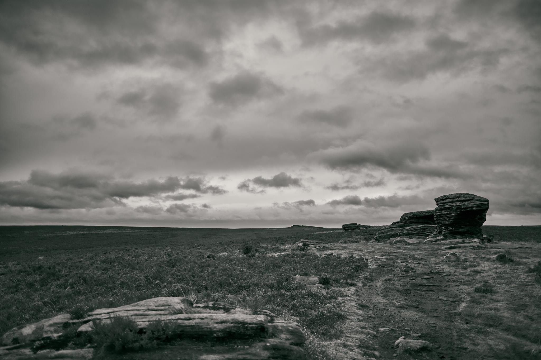 Barren landscape by James Butters