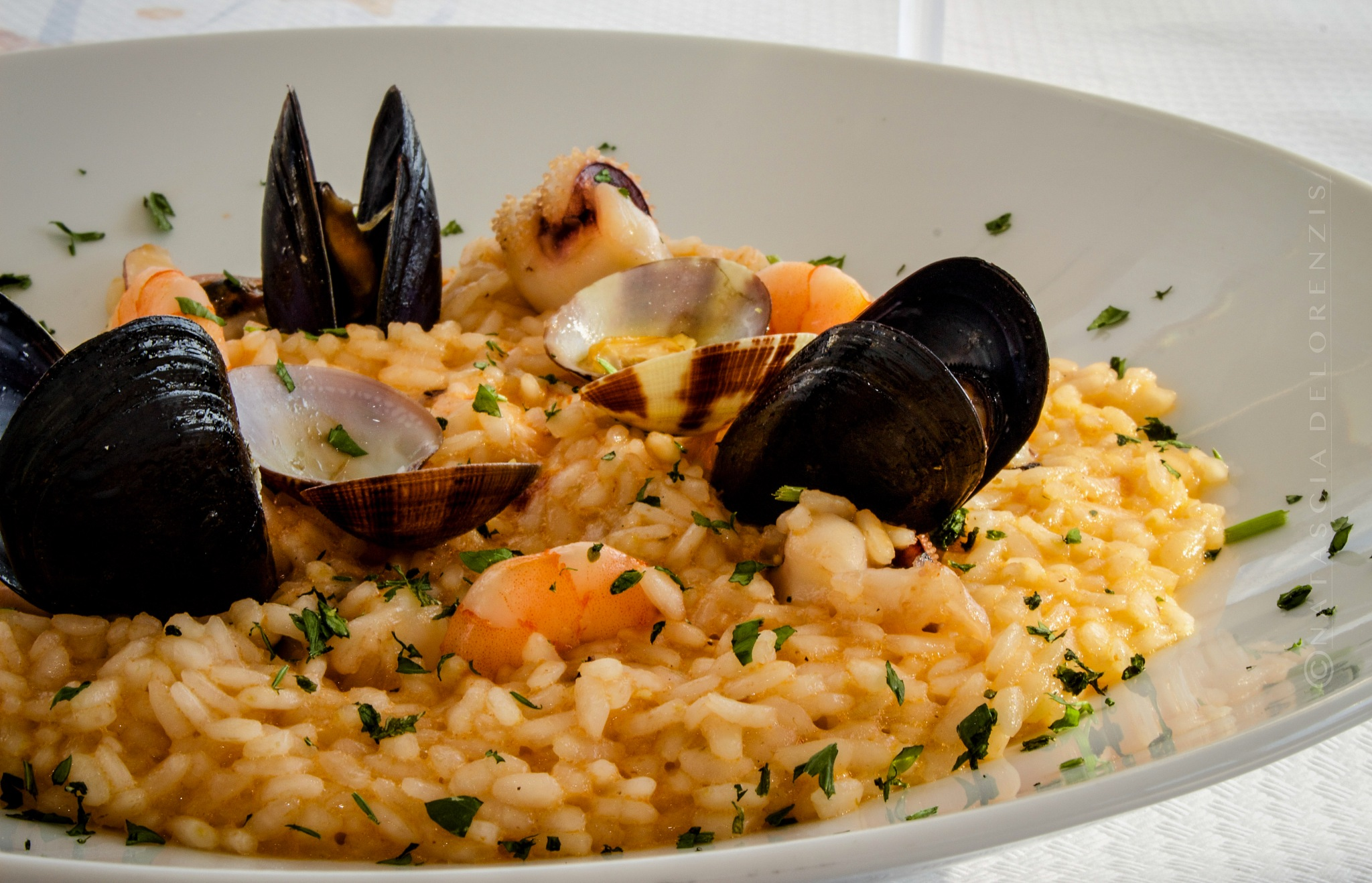 Risotto with sea fruits by Natascia