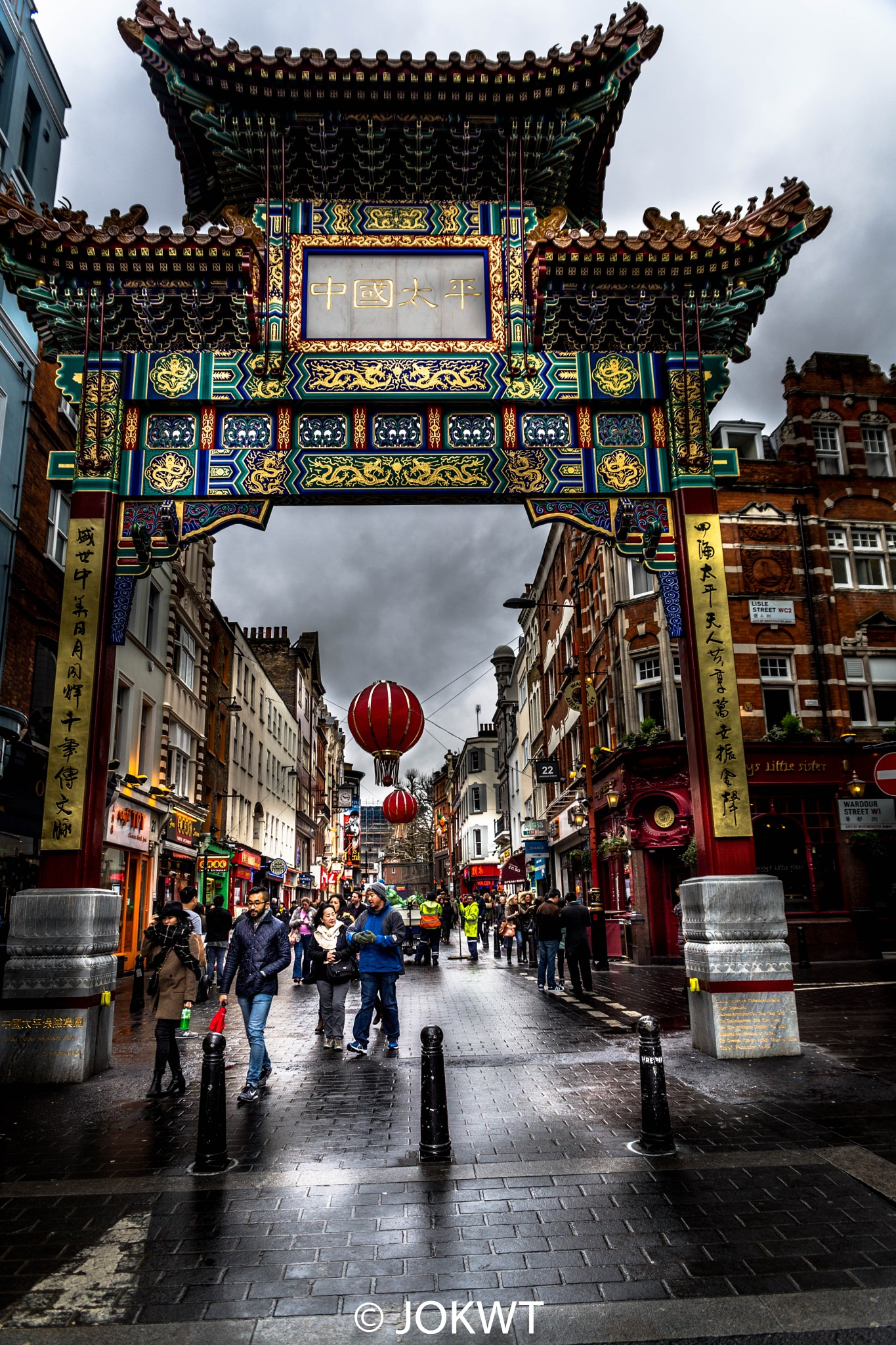 china town - london by Y.Allugman