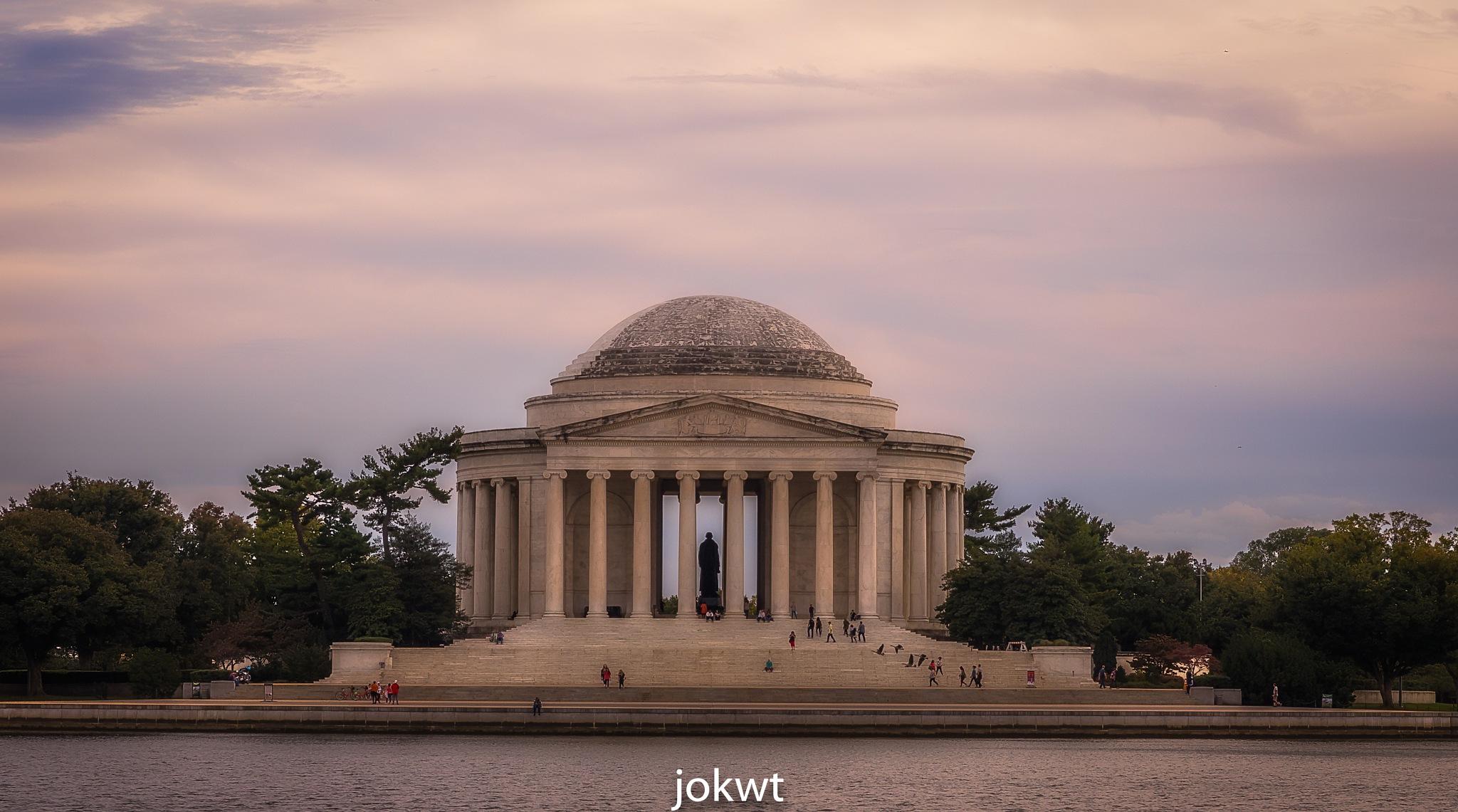 Thomas Jefferson Memorial by Y.Allugman