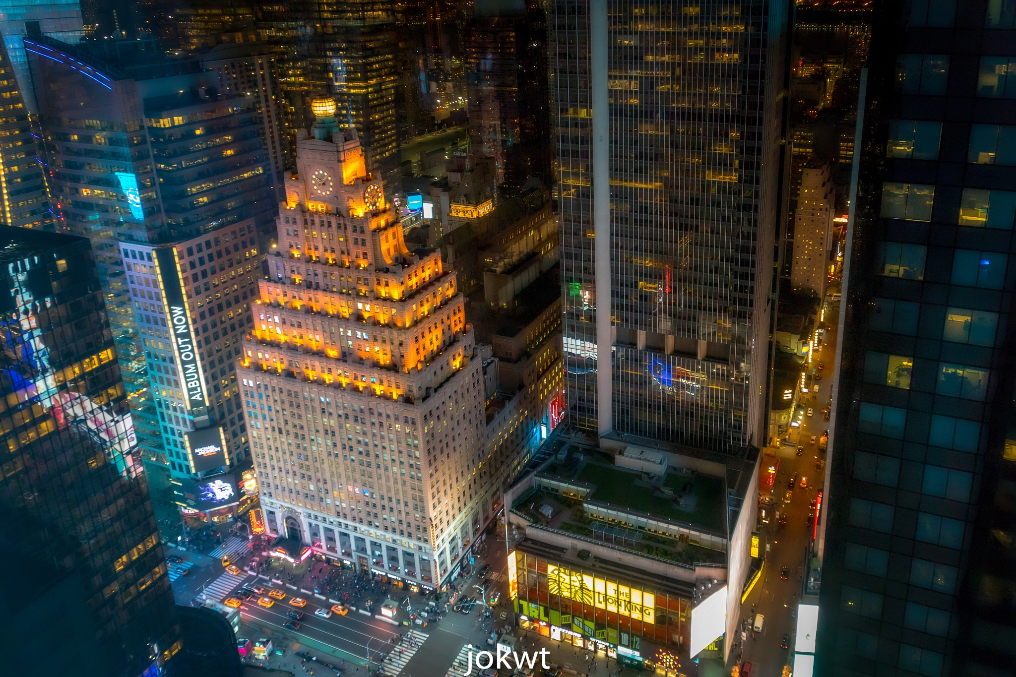 TIME SQUARE - NY- 2 by Y.Allugman