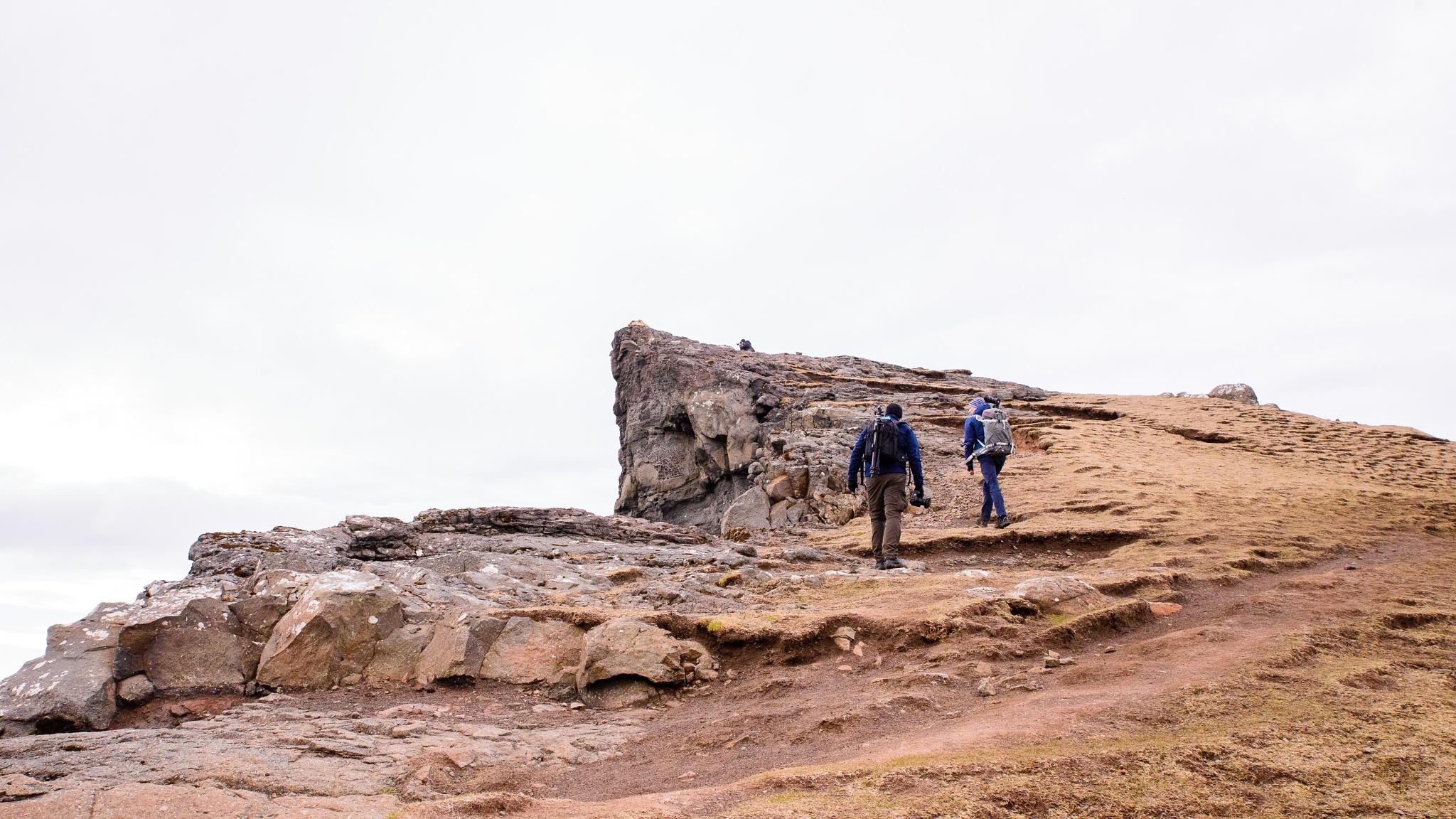 The long walk on the Faroe Islands by Hans Christian Strikert