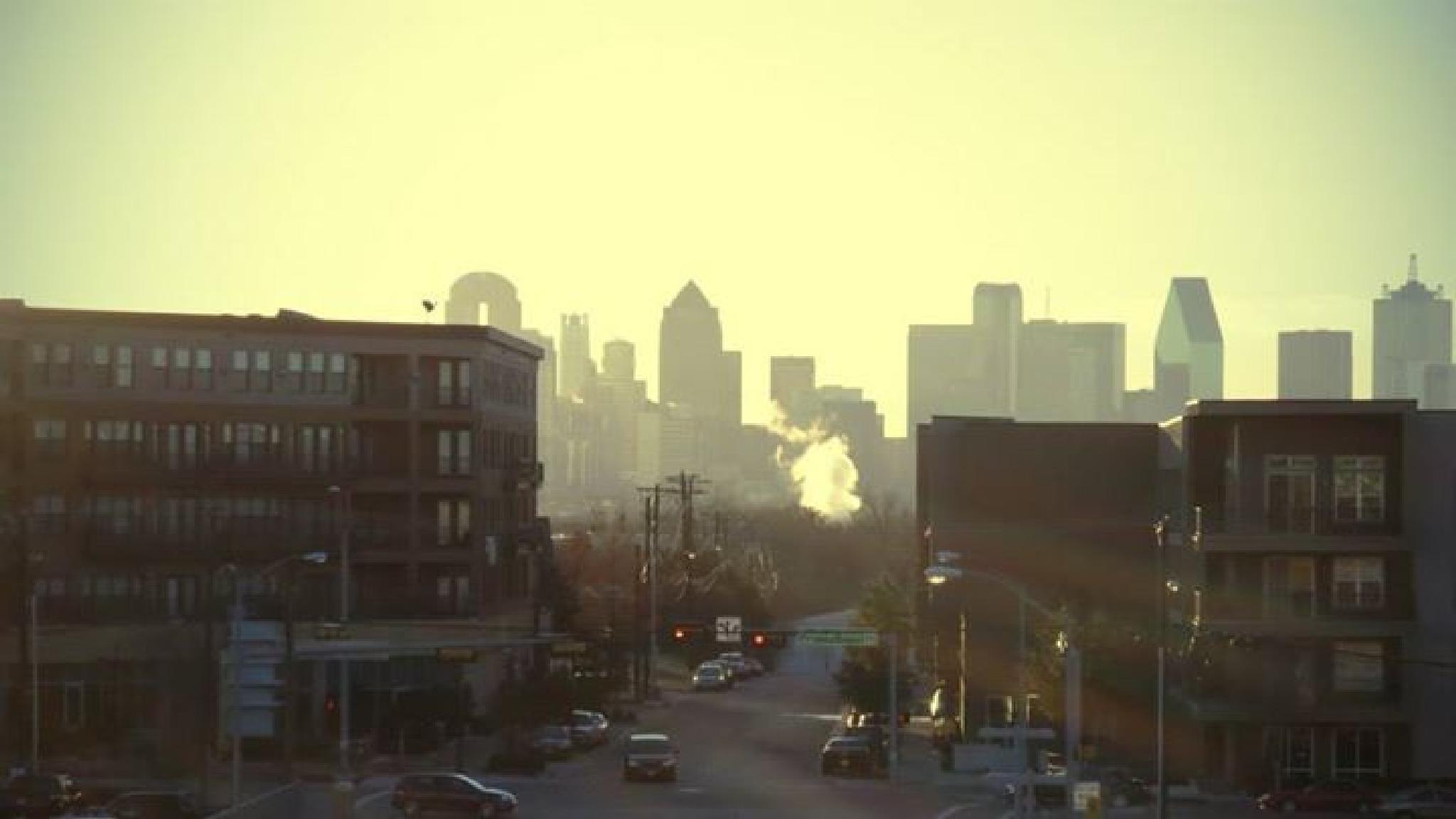 the beautiful Dallas at morning by Santiago Escobar Photographer