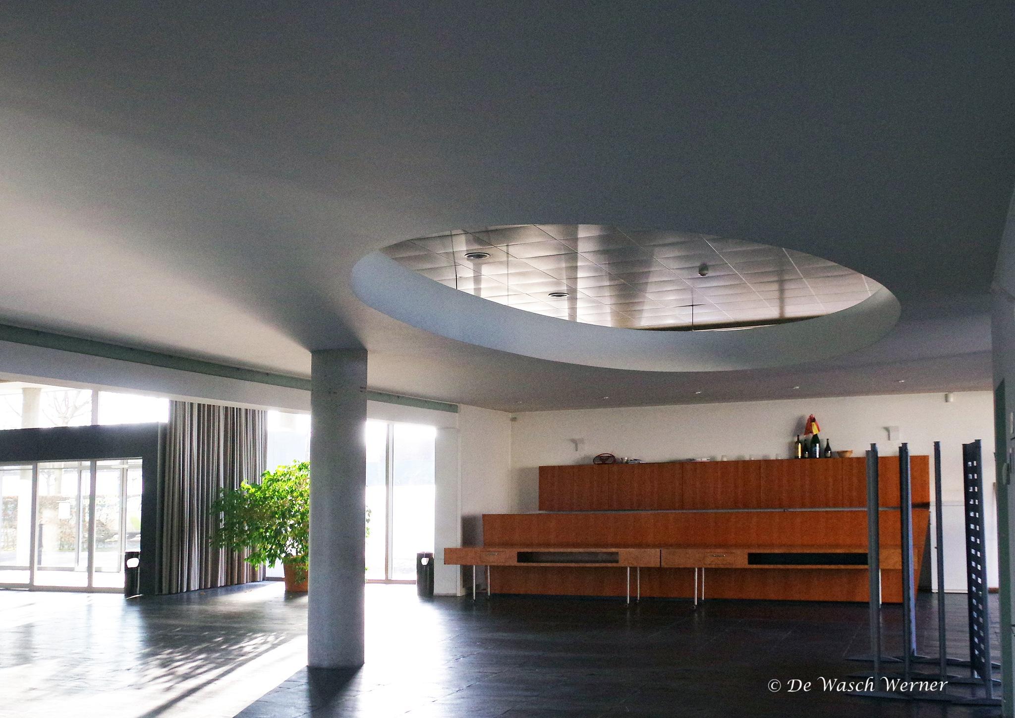 reception hall by Werner De Wasch