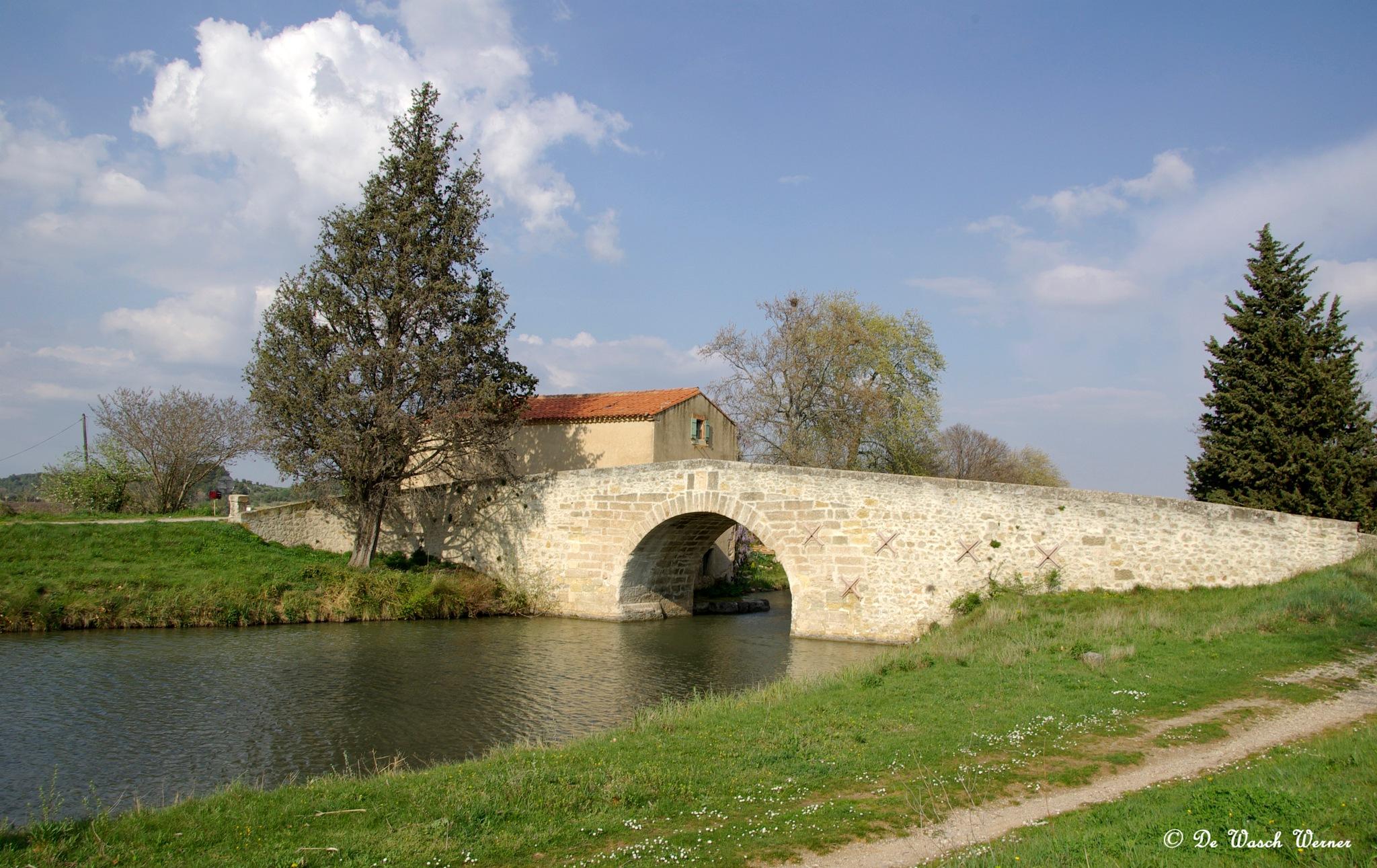 canal du midi by Werner De Wasch