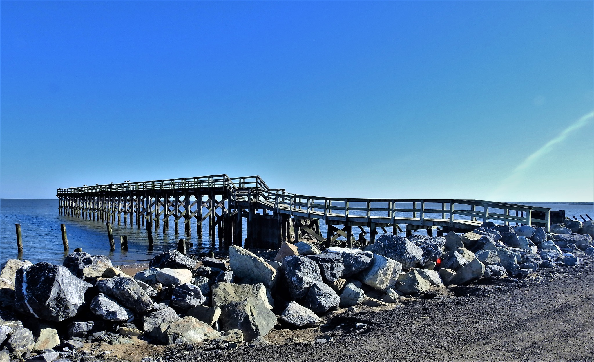 Fishing Pier by Susan Harrison
