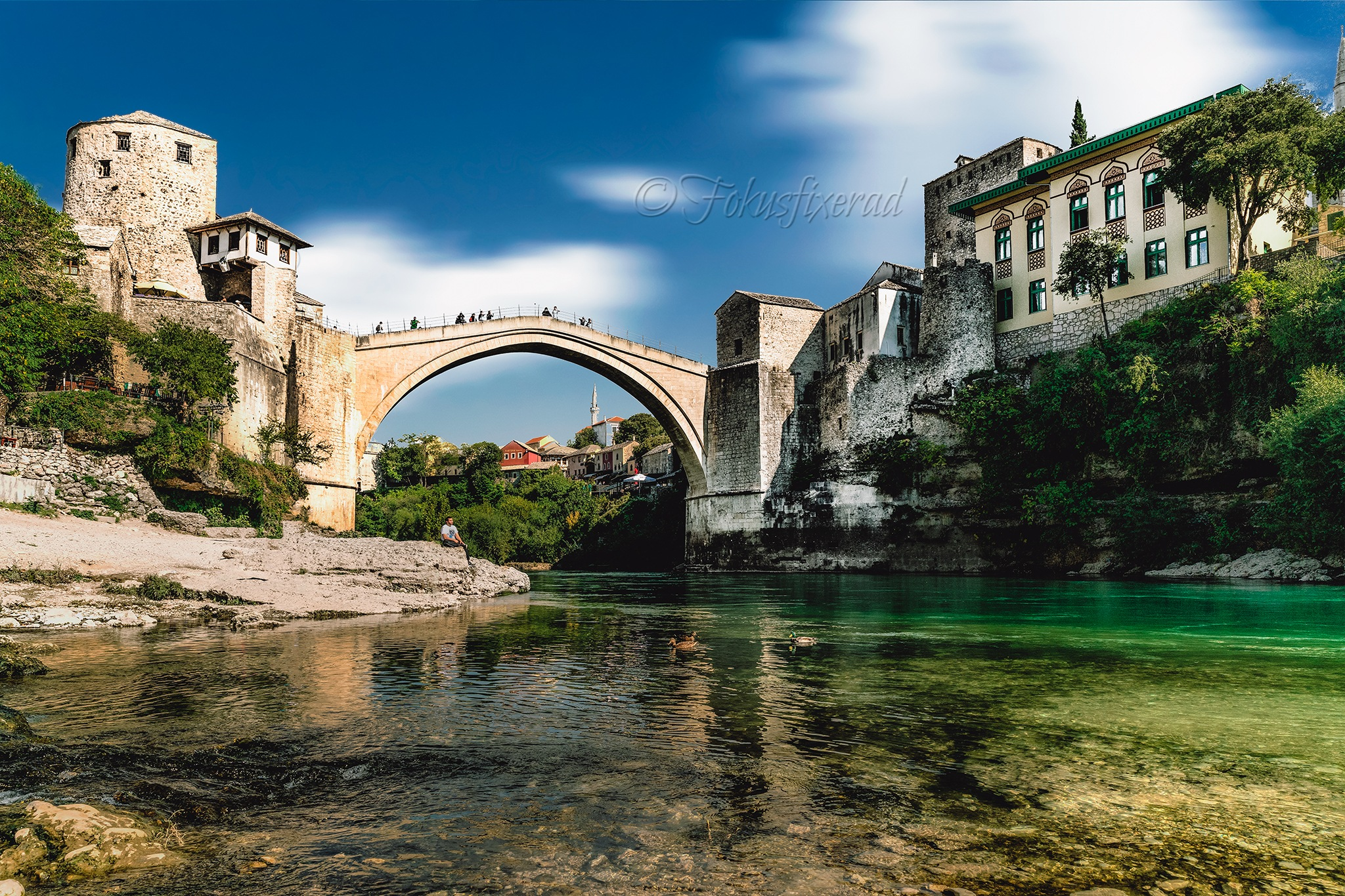 Mostar by Robertino Petersson
