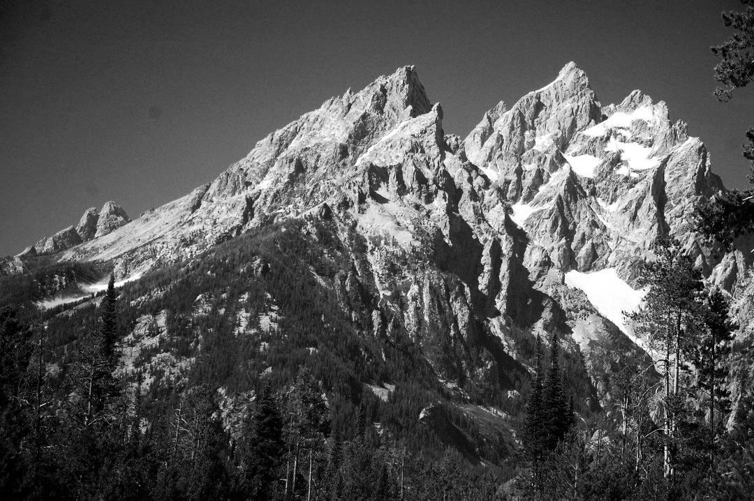 mountain peaks by Harold Stoler