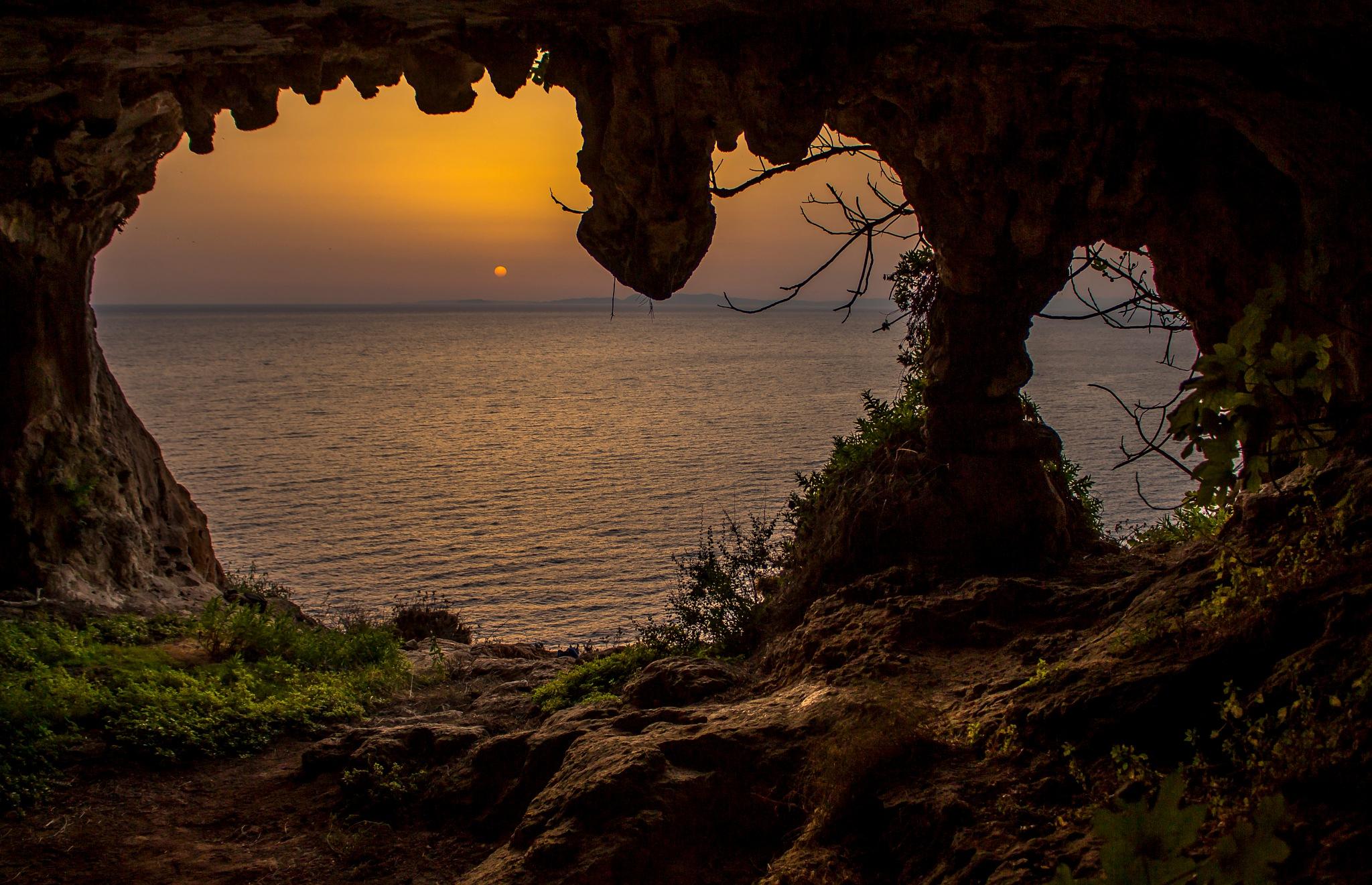 Cave by Nektarios Mpouterakos