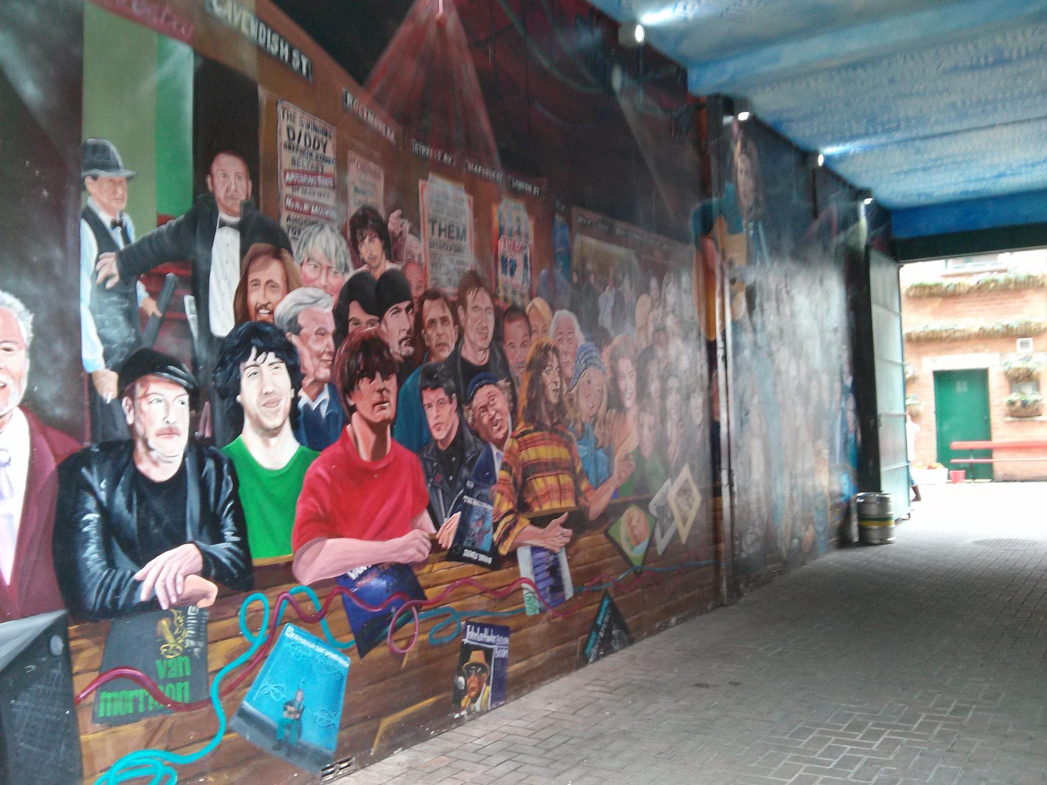 Mural paintings by Jorge Giro