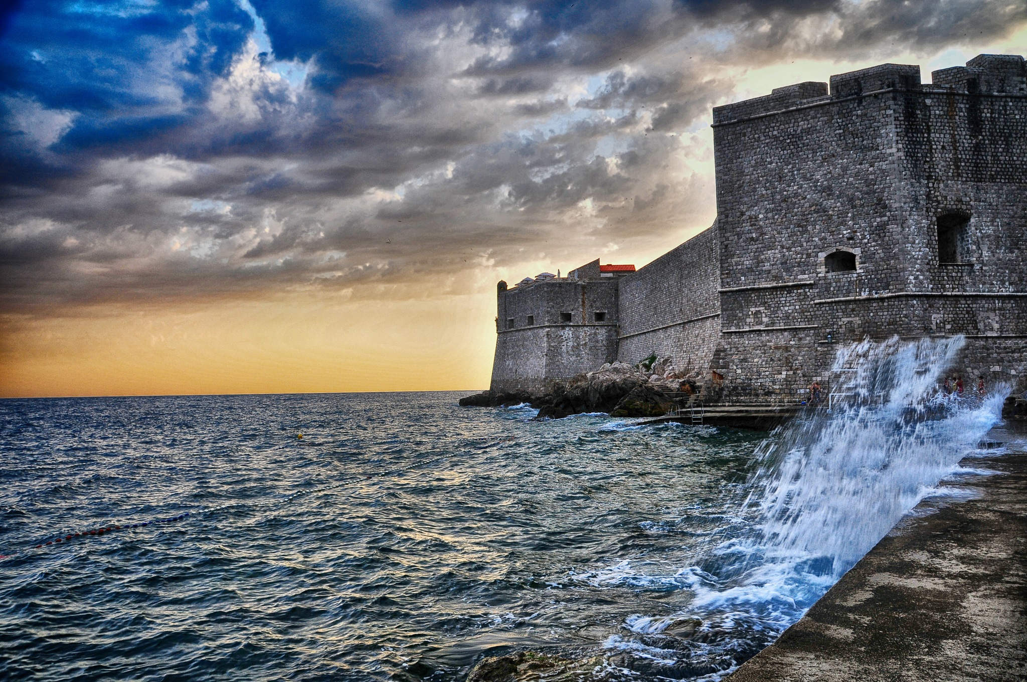 The Fortress of Dubrovnik by Manny D Suriel