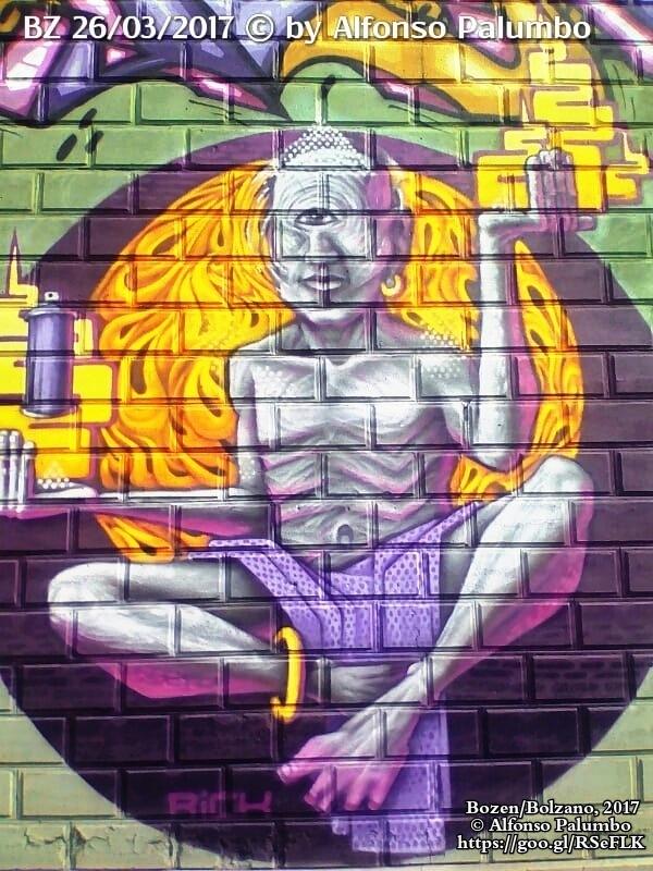 Graffiti - Kyklop by Alfonso Palumbo