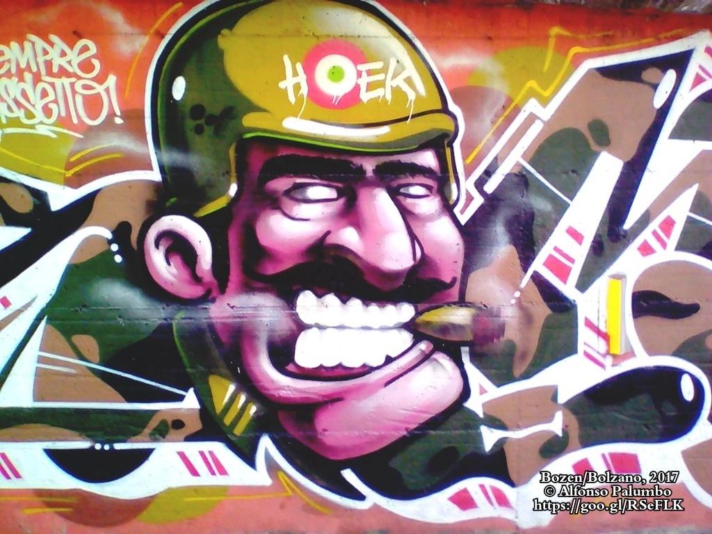 Graffiti - Very Important Person by Alfonso Palumbo
