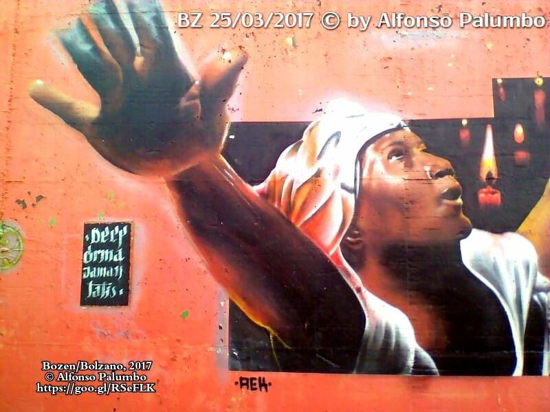 Graffiti - Liberty by Alfonso Palumbo