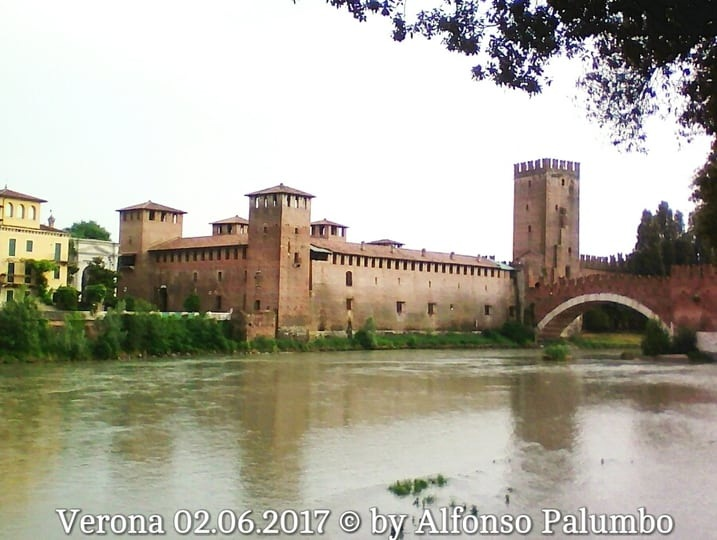 Verona, Castelvecchio by Alfonso Palumbo