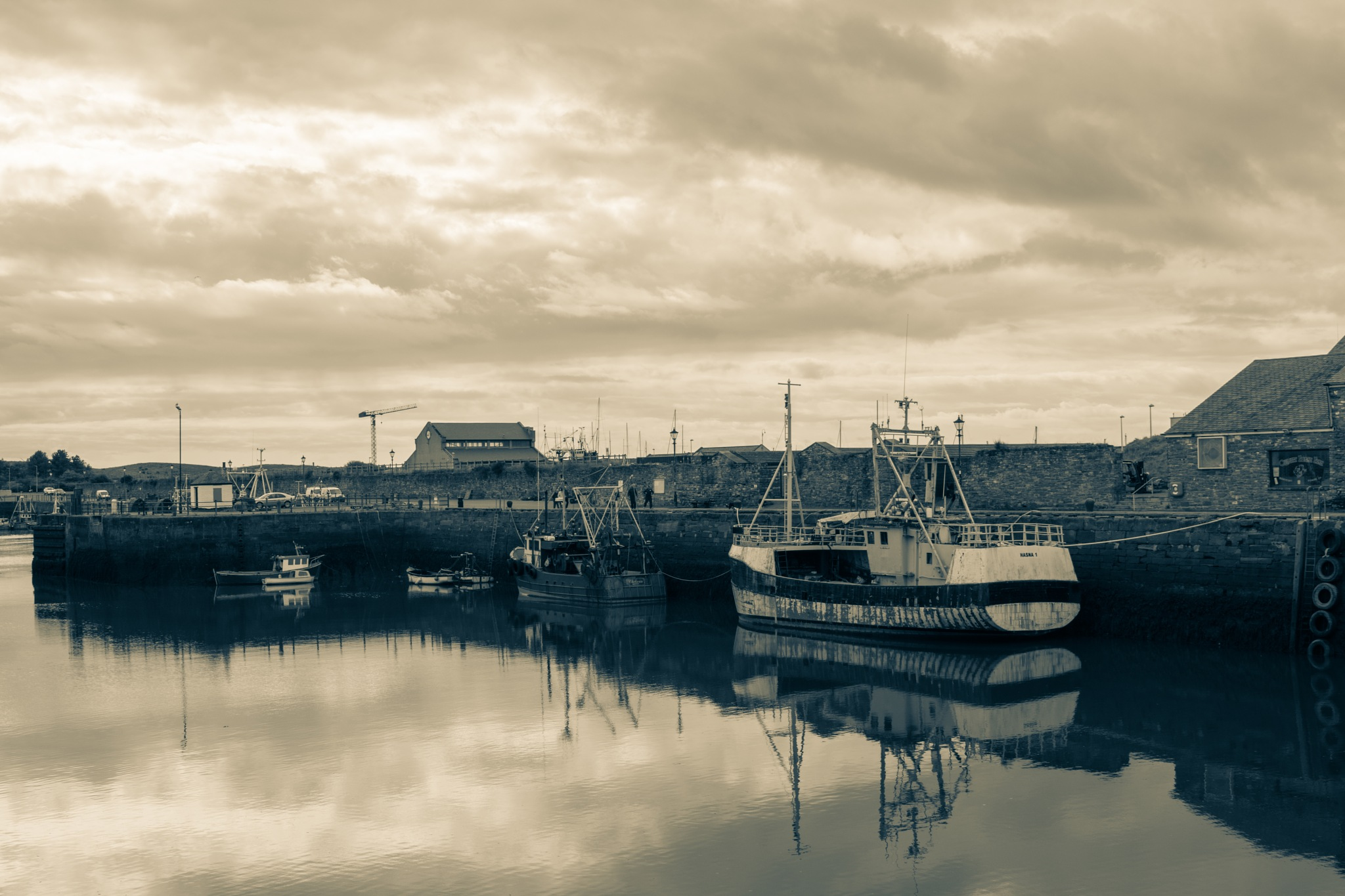Maryport Harbour by Andrew Butler