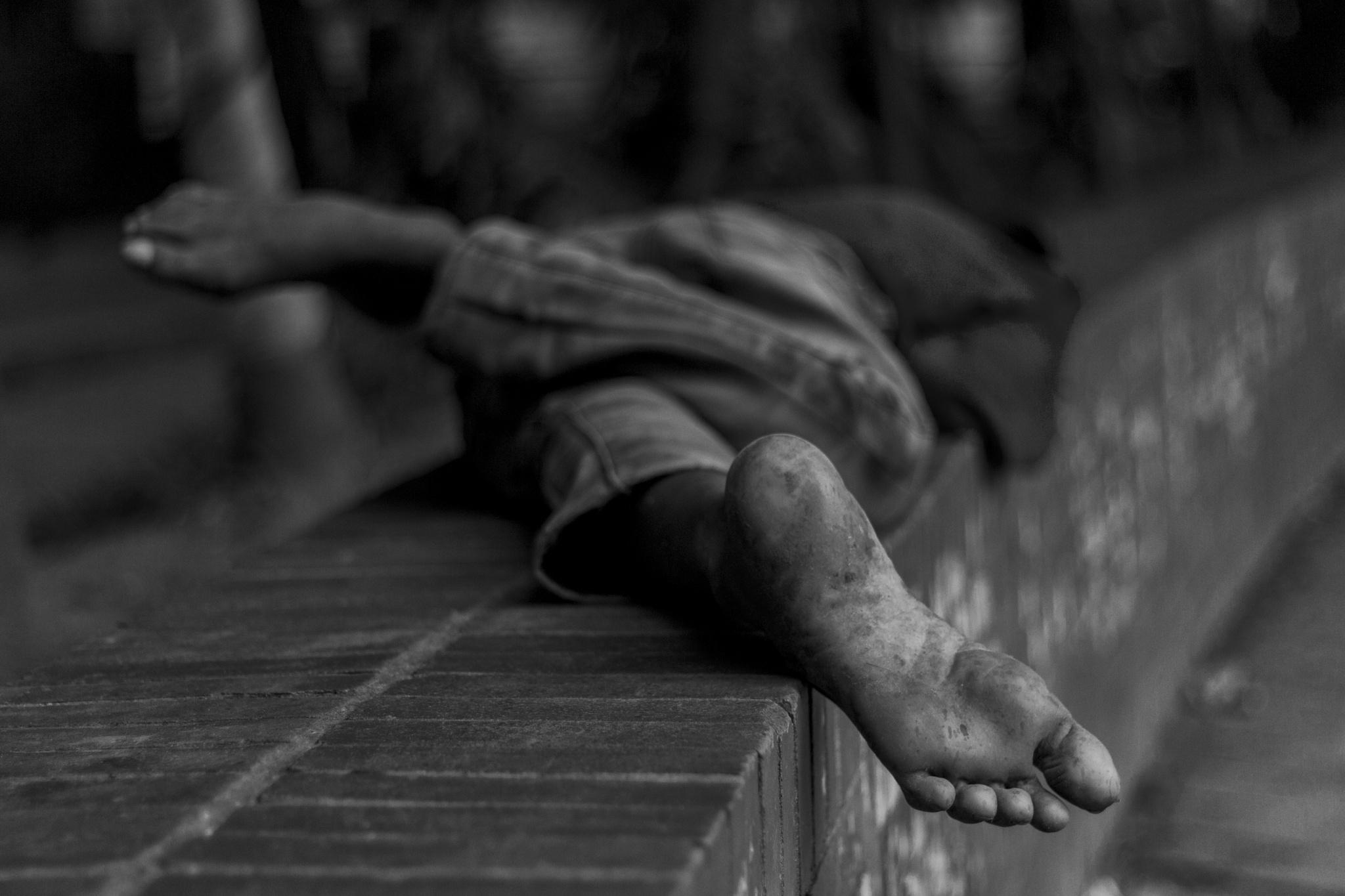 Foot by razibjbarjong