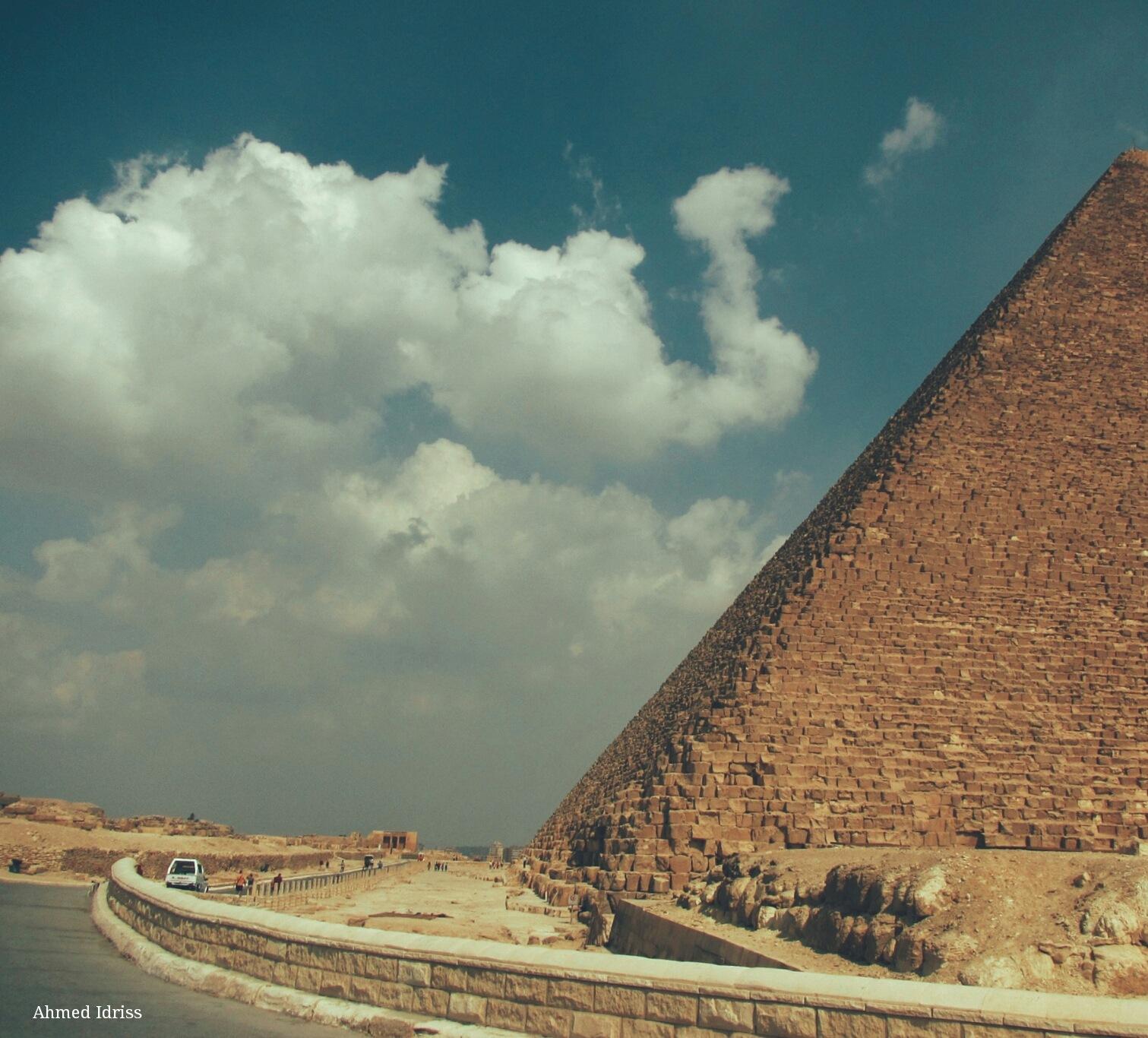 Pyramids by Ahmed Idris