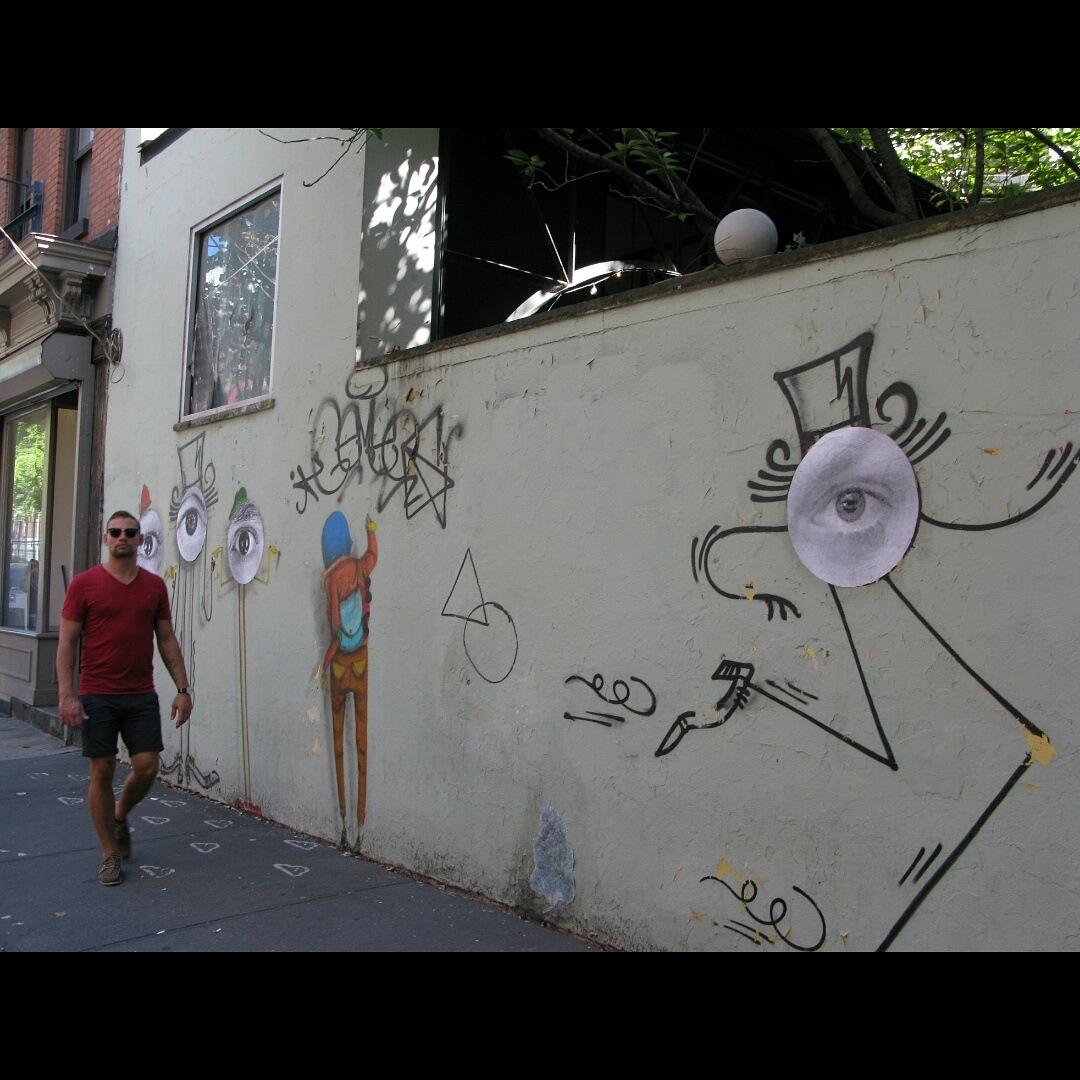 Eye For Street Art by Glenn Mann