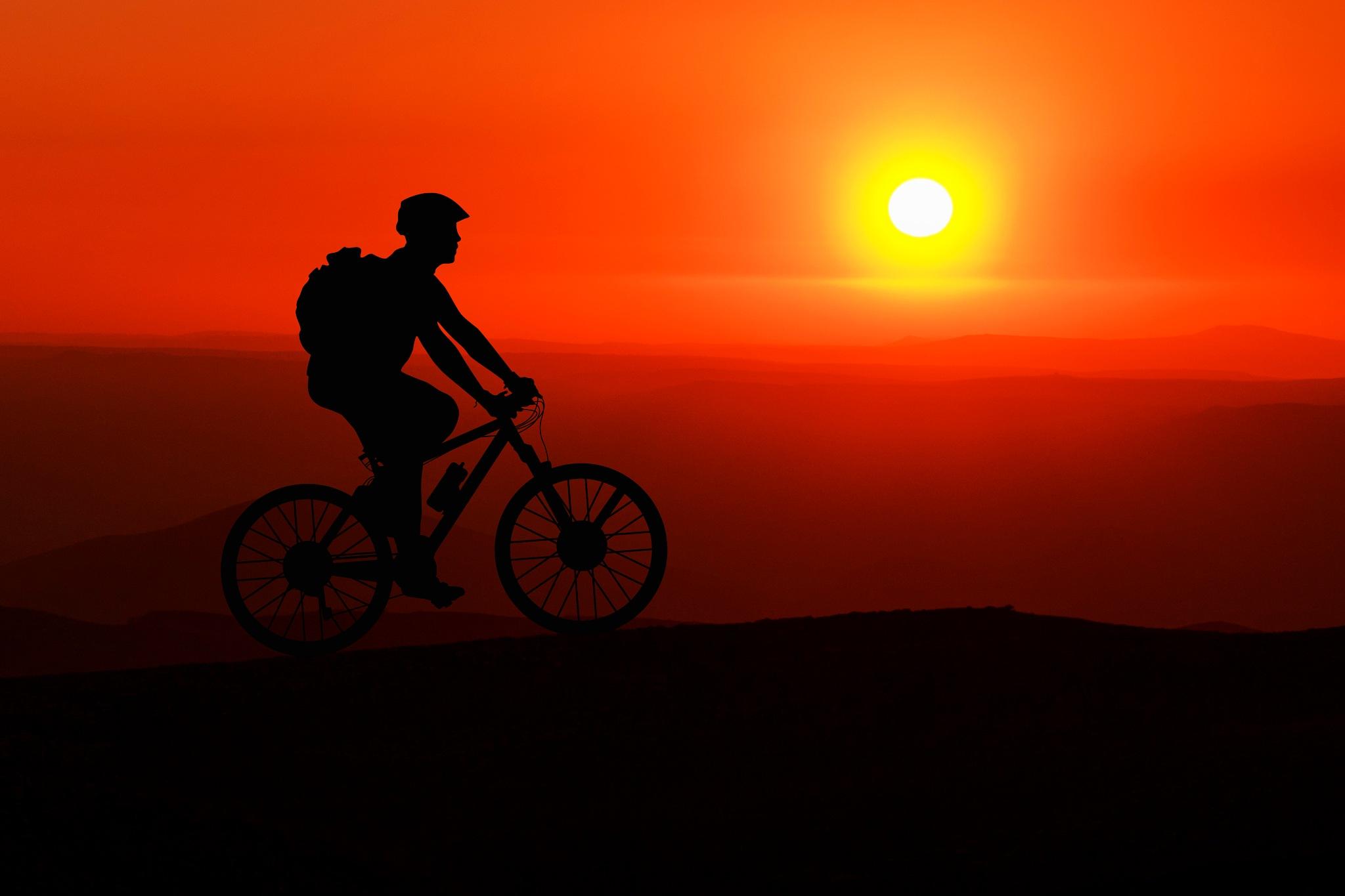 Red sunset by Noureddine Belfethi