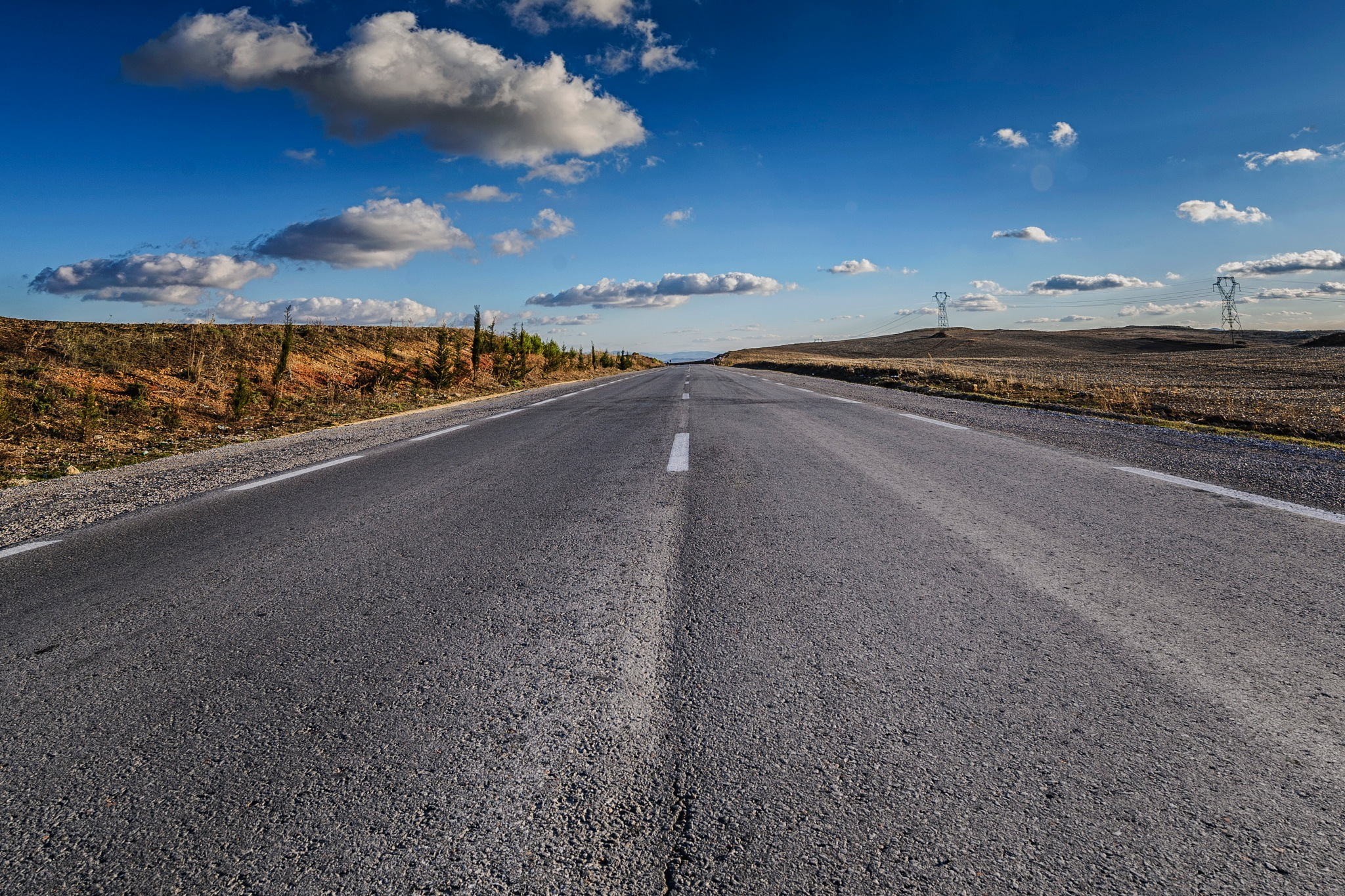 Road by Noureddine Belfethi