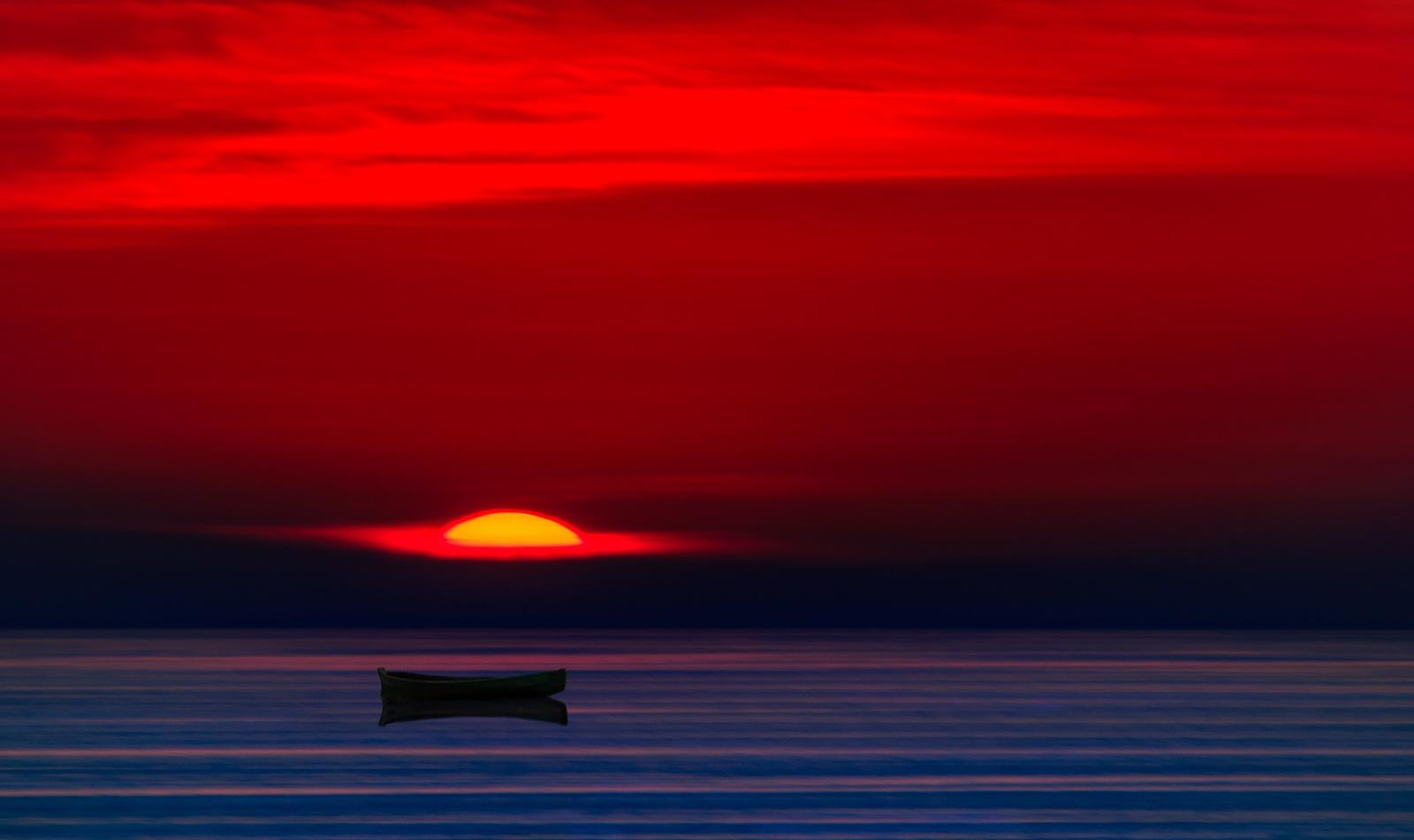 Mesmerising sunset, Ionian Sea!!! by Sotiris Siomis