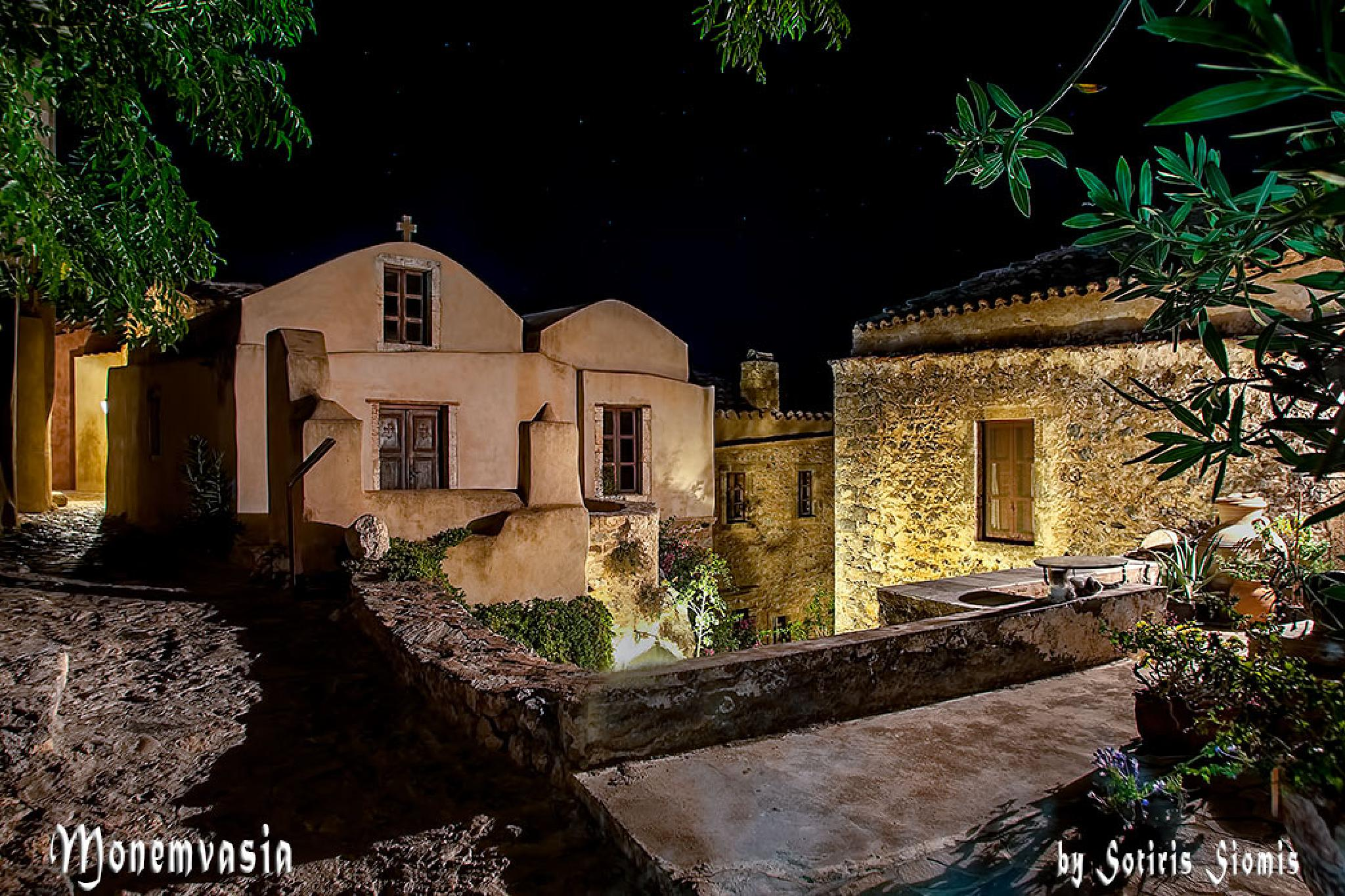 Monemvasia by Sotiris Siomis