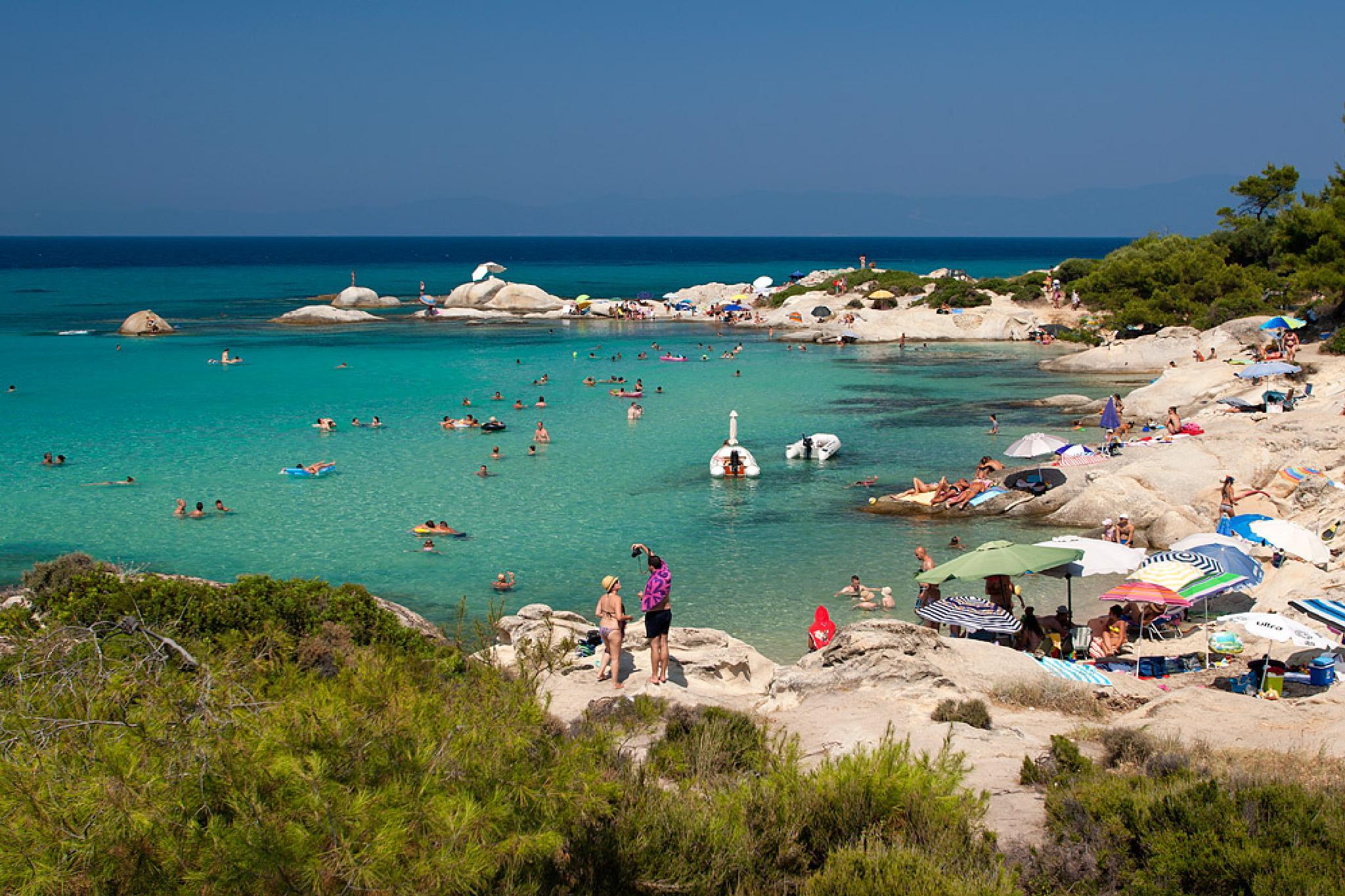 Halkidiki Sithonia-Portokali beach by Sotiris Siomis