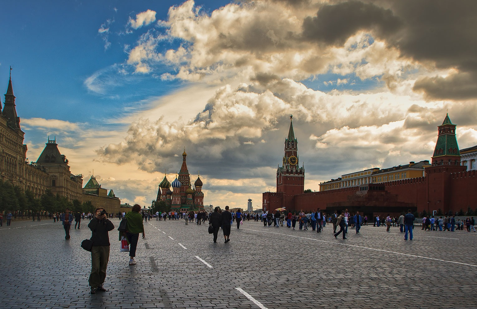 Red Square, Moscow, Russia   by Sotiris Siomis