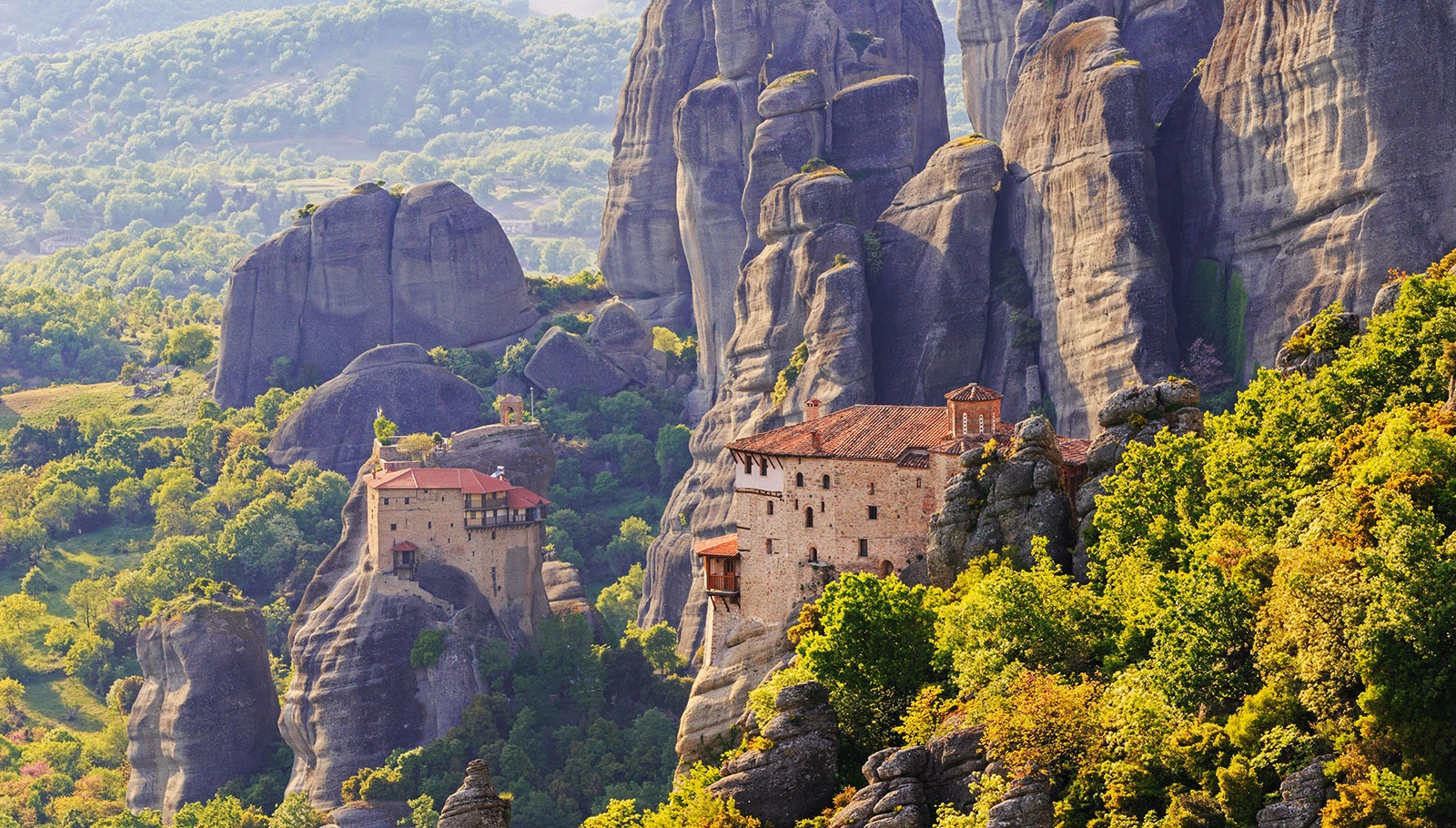 Meteora the miracle of nature  !! by Sotiris Siomis