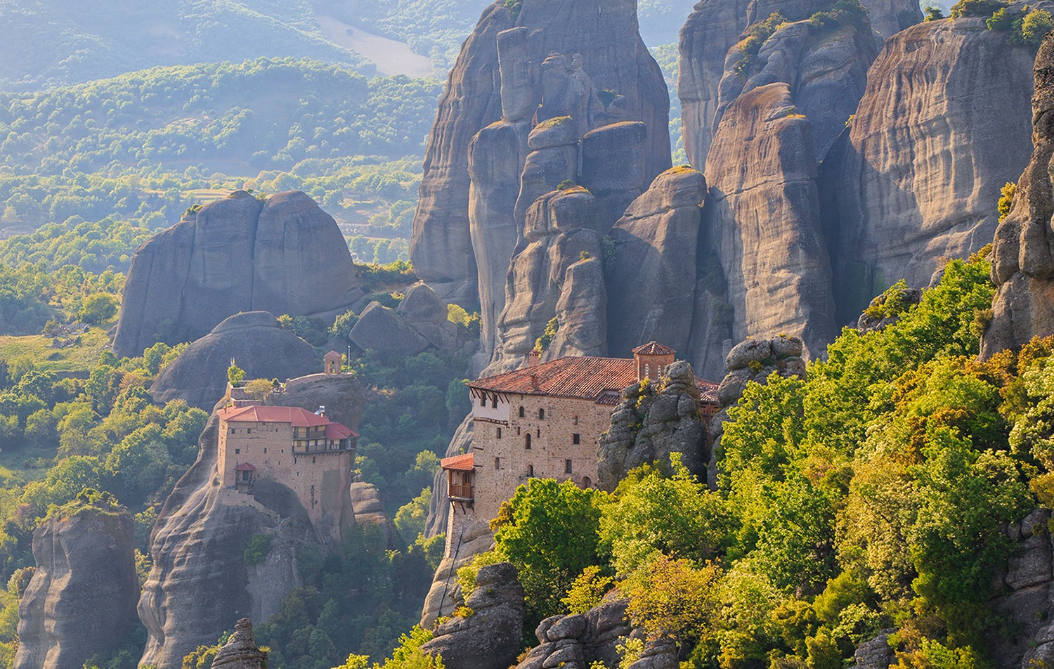 Meteora the miracle of nature and faith! by Sotiris Siomis