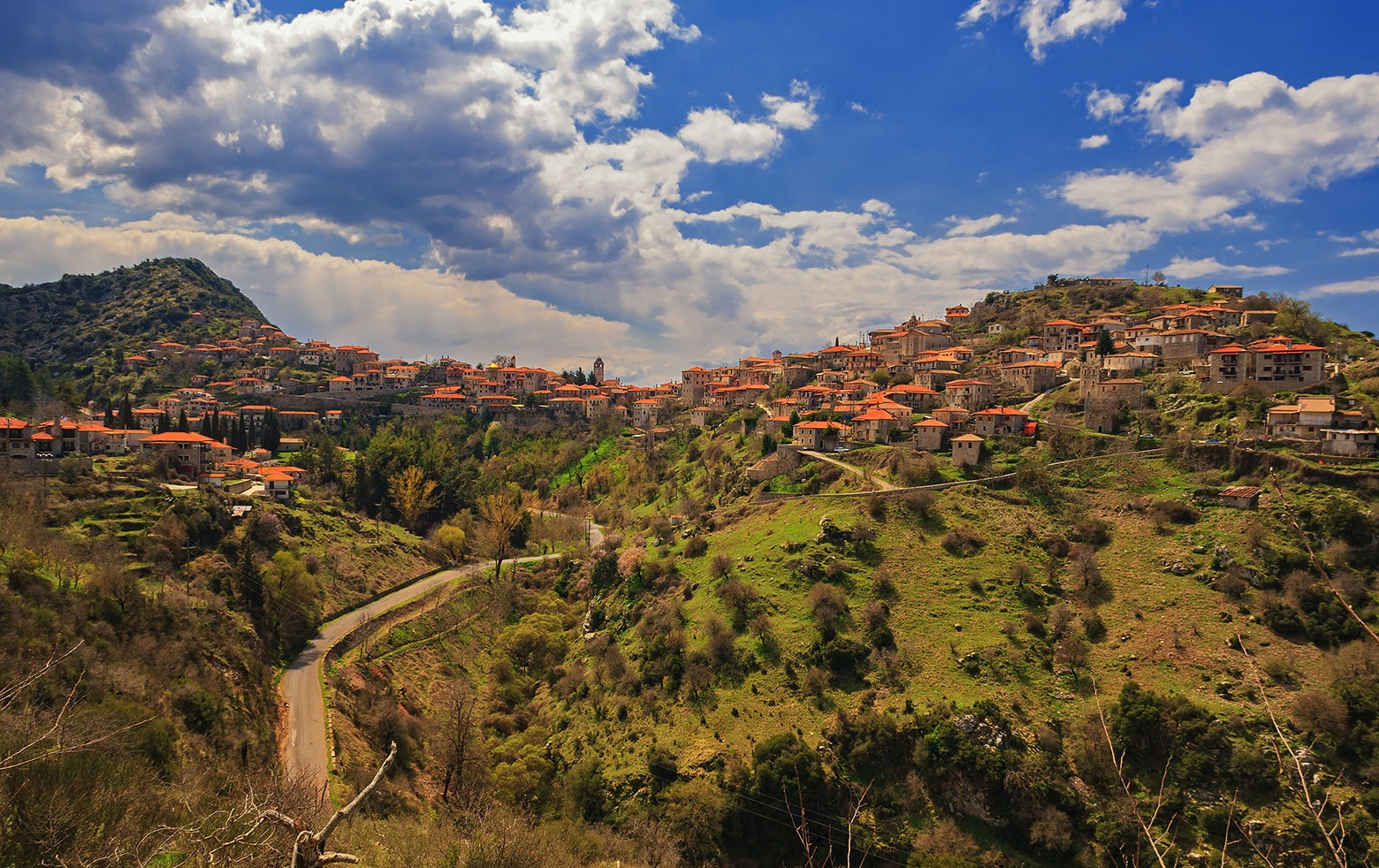 Dimitsana village  by Sotiris Siomis
