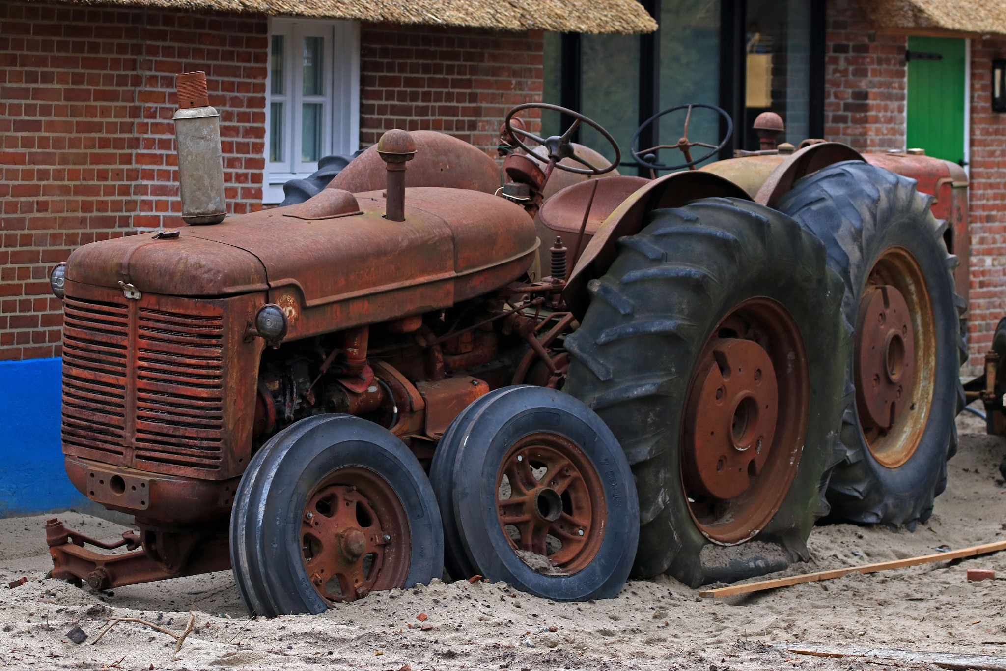 tractor at the end by Jeroen Wouter van der Vlist