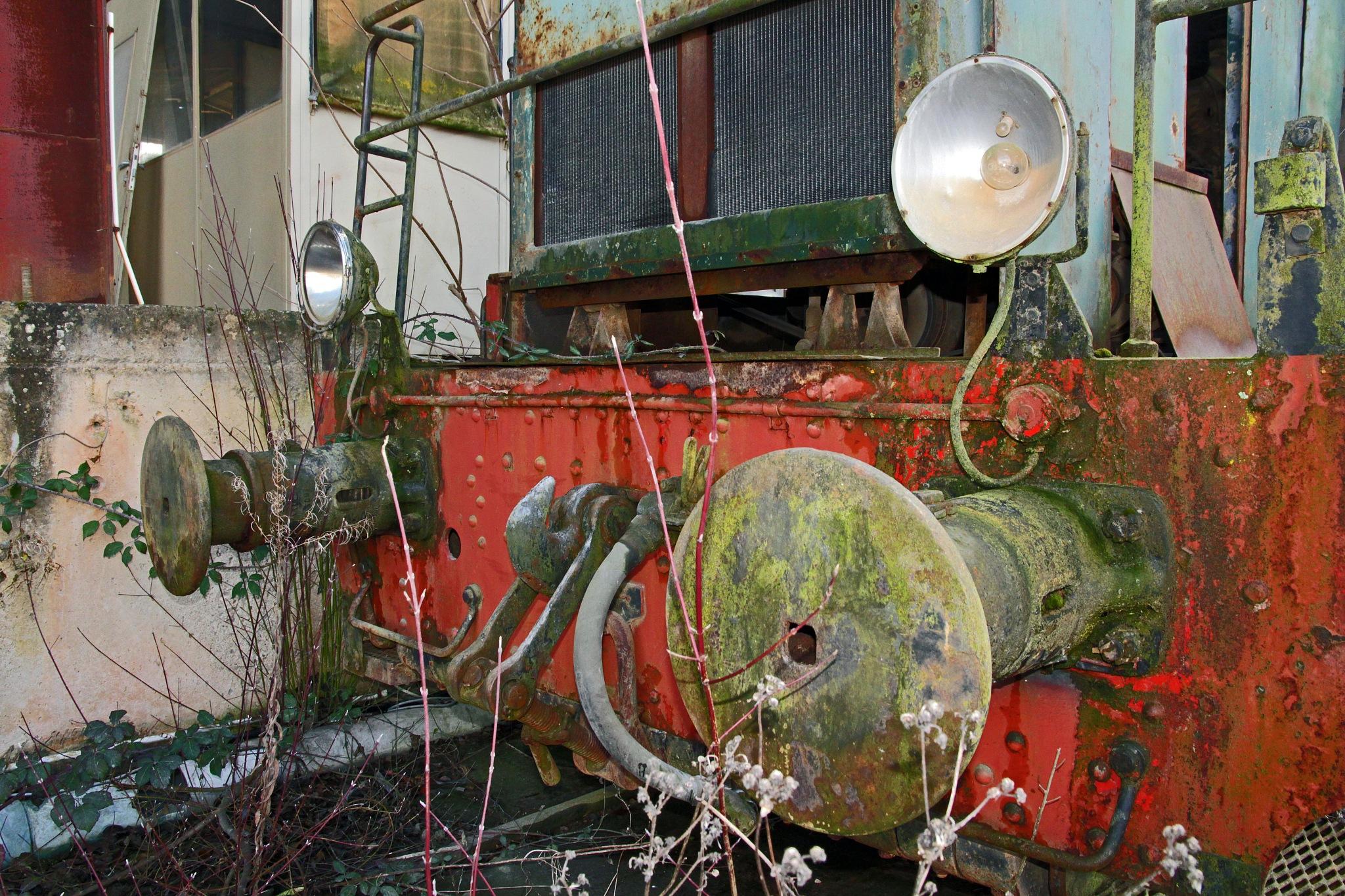 Old train retired by Jeroen Wouter van der Vlist