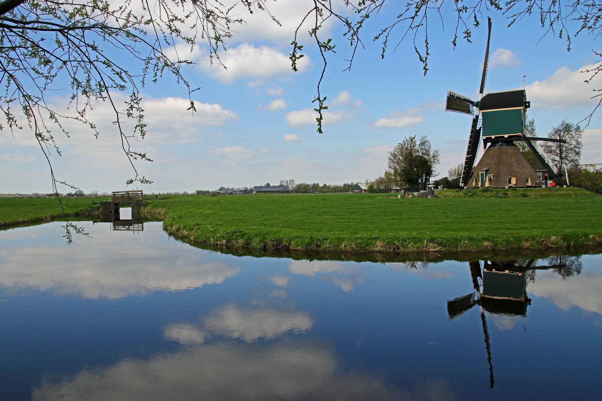 Mill of Spengen by Jeroen Wouter van der Vlist