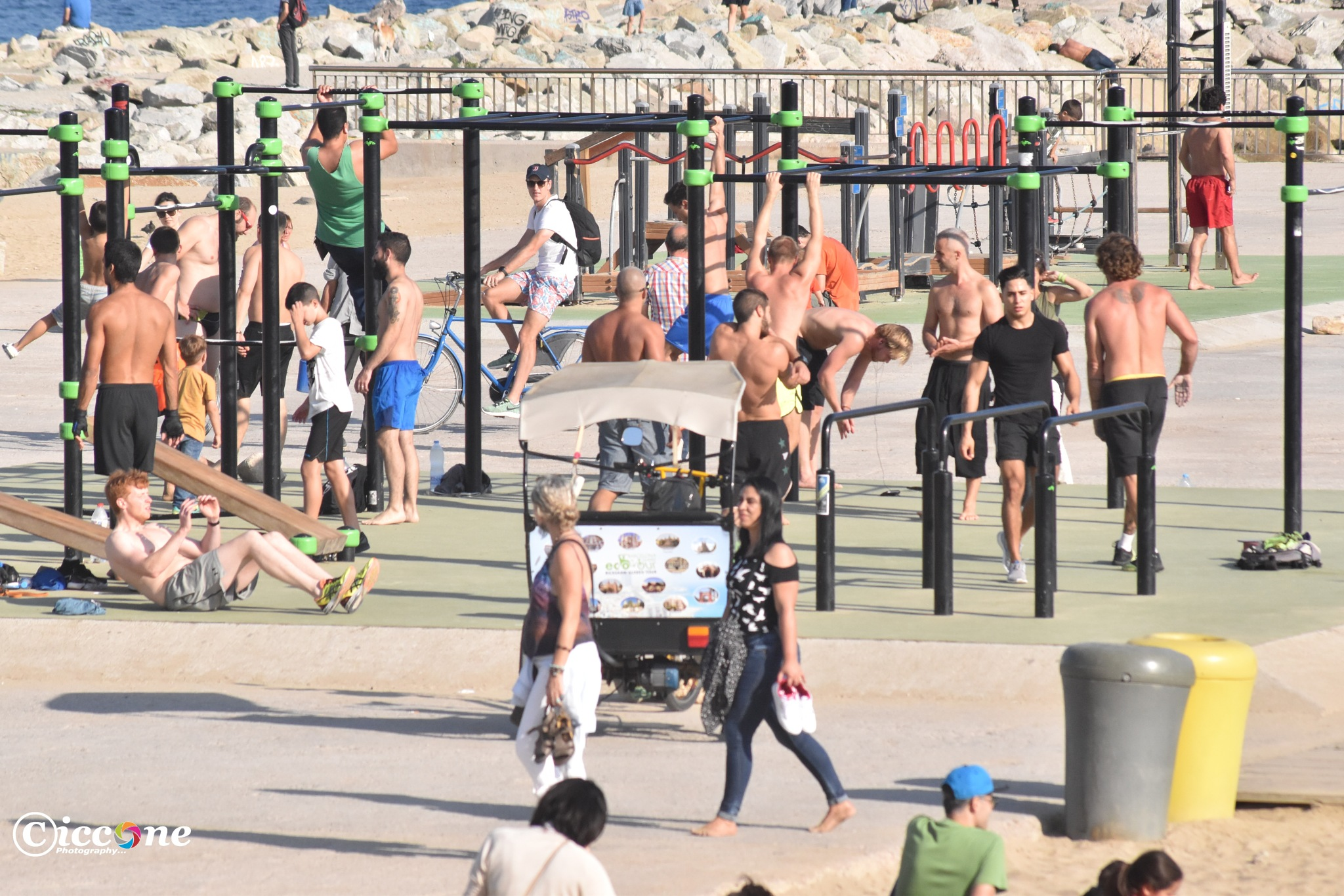 Muscle Beach by Marc Ciccone