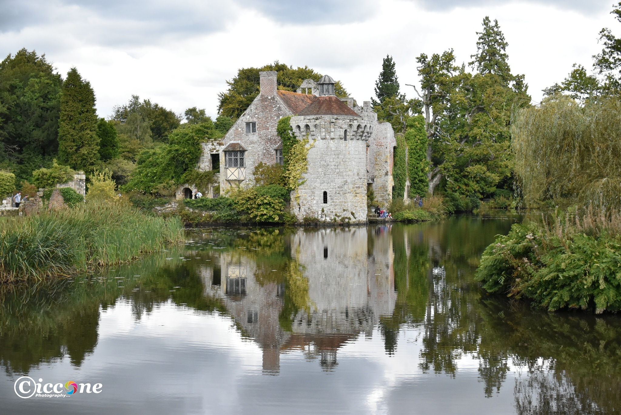 Scotney Castle National Trust  by Marc Ciccone