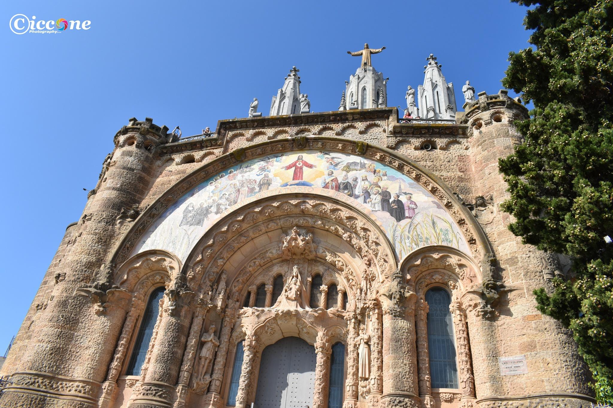 Tibidabo Church and Amusement Park by Marc Ciccone