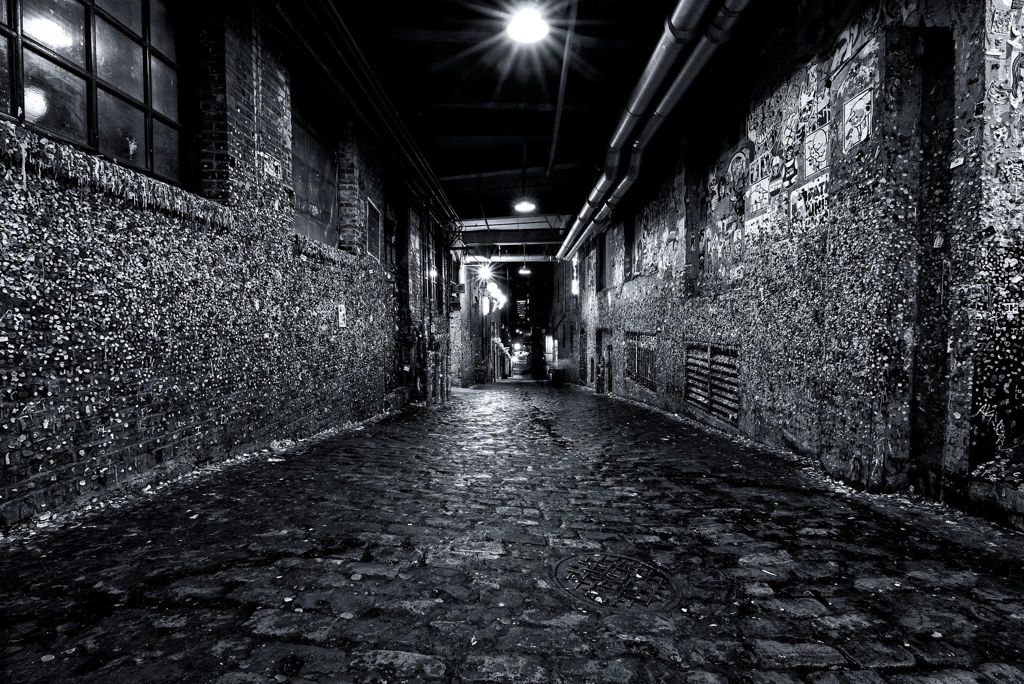 Seattle gum wall by michael Chervenak
