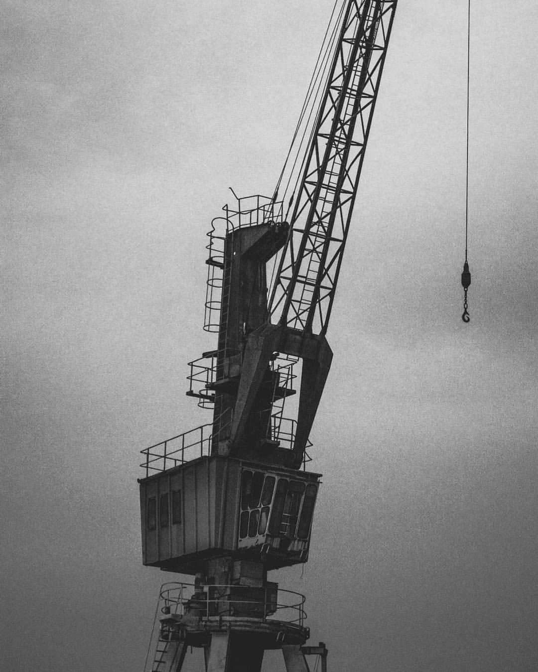 Old Crane by Marcus Menezes