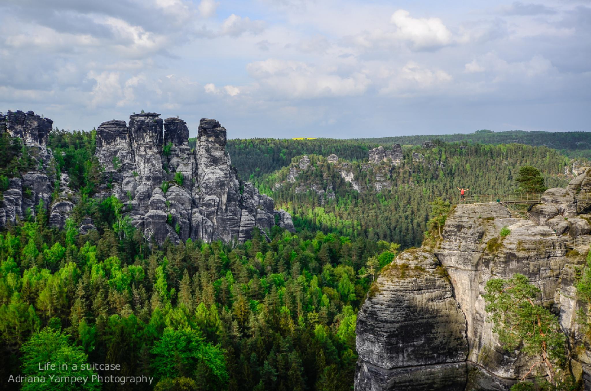 Bastei Rocks, Germany by AdiY