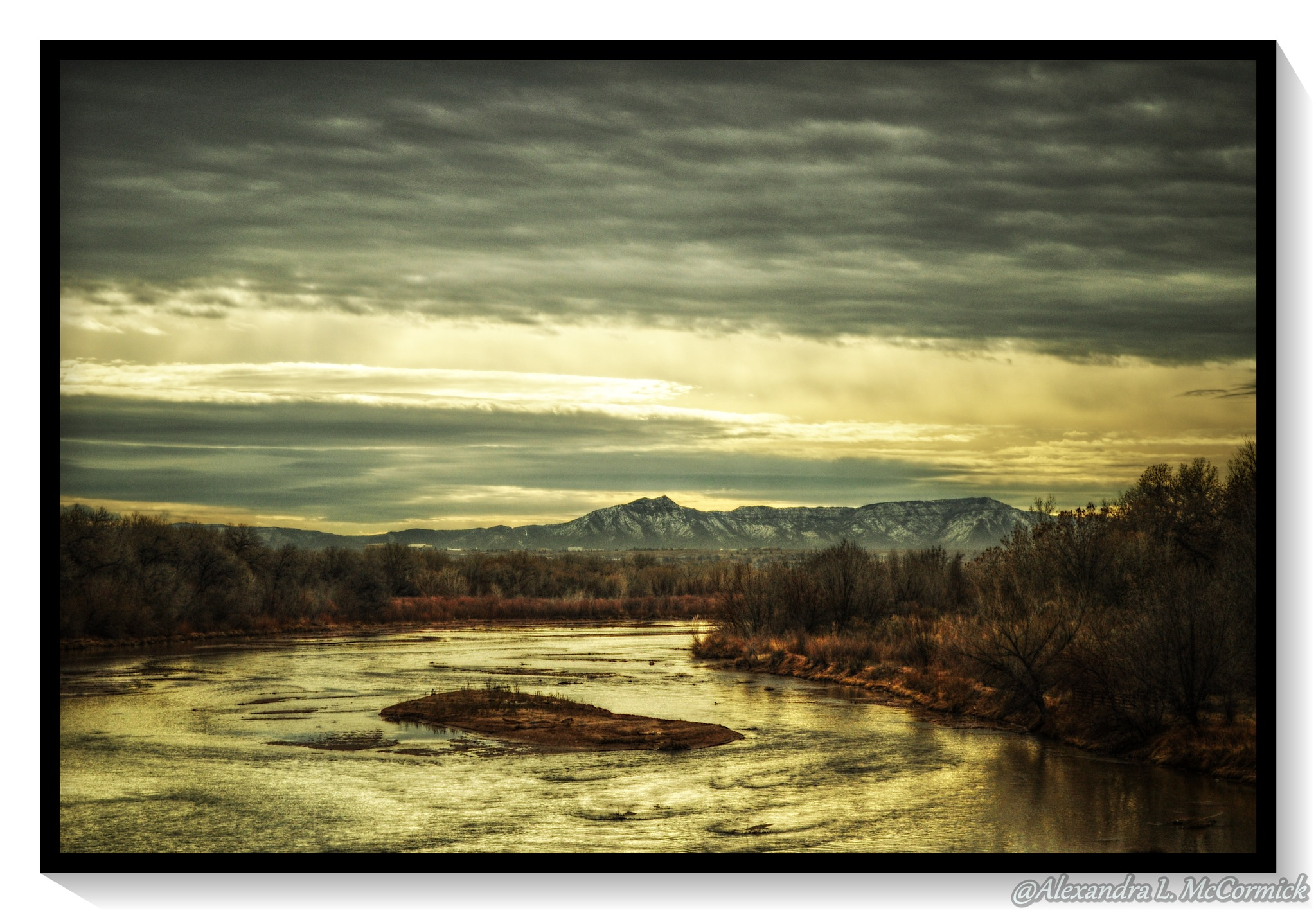Photo in Landscape #landscape #photography #water #river #lake #clouds #sky #weather #trees #plants #nature
