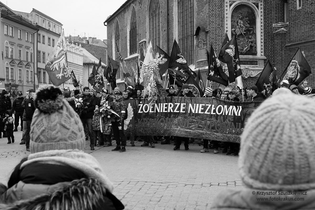 Żołnierze Niezłomni - Kraków  by Krzysztof Szuszkiewicz