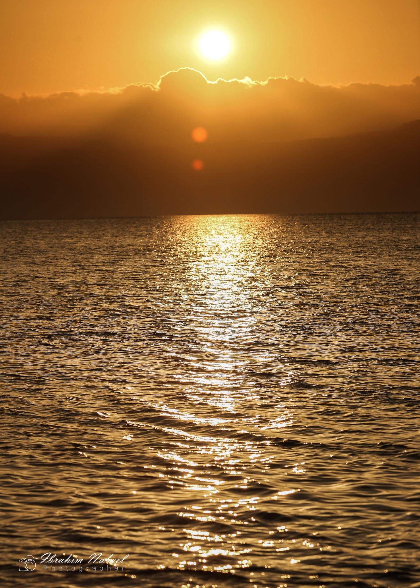 sunset by Ibrahim Nabeel